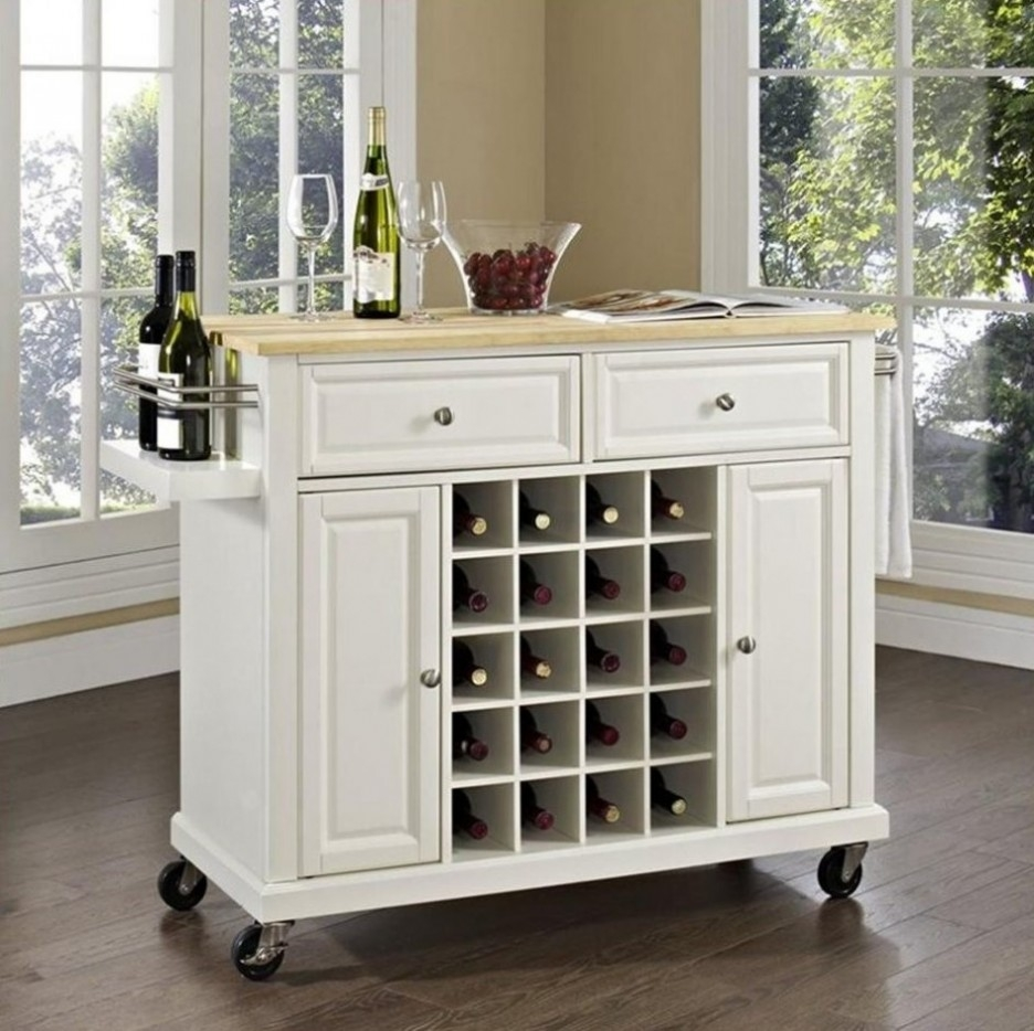 Wine Storage Kitchen Island