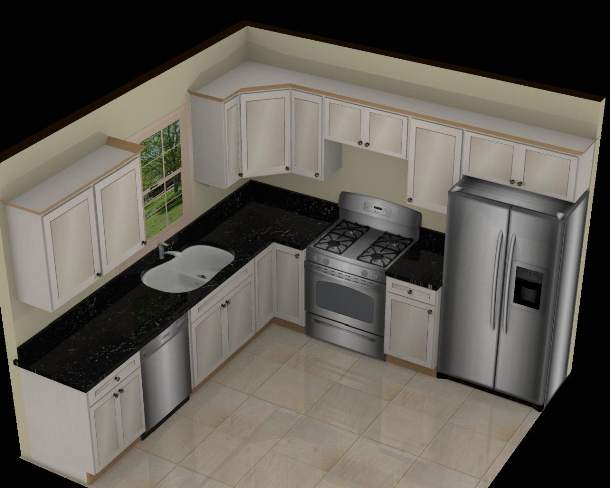 10×10 Kitchen Cabinets Under 1000