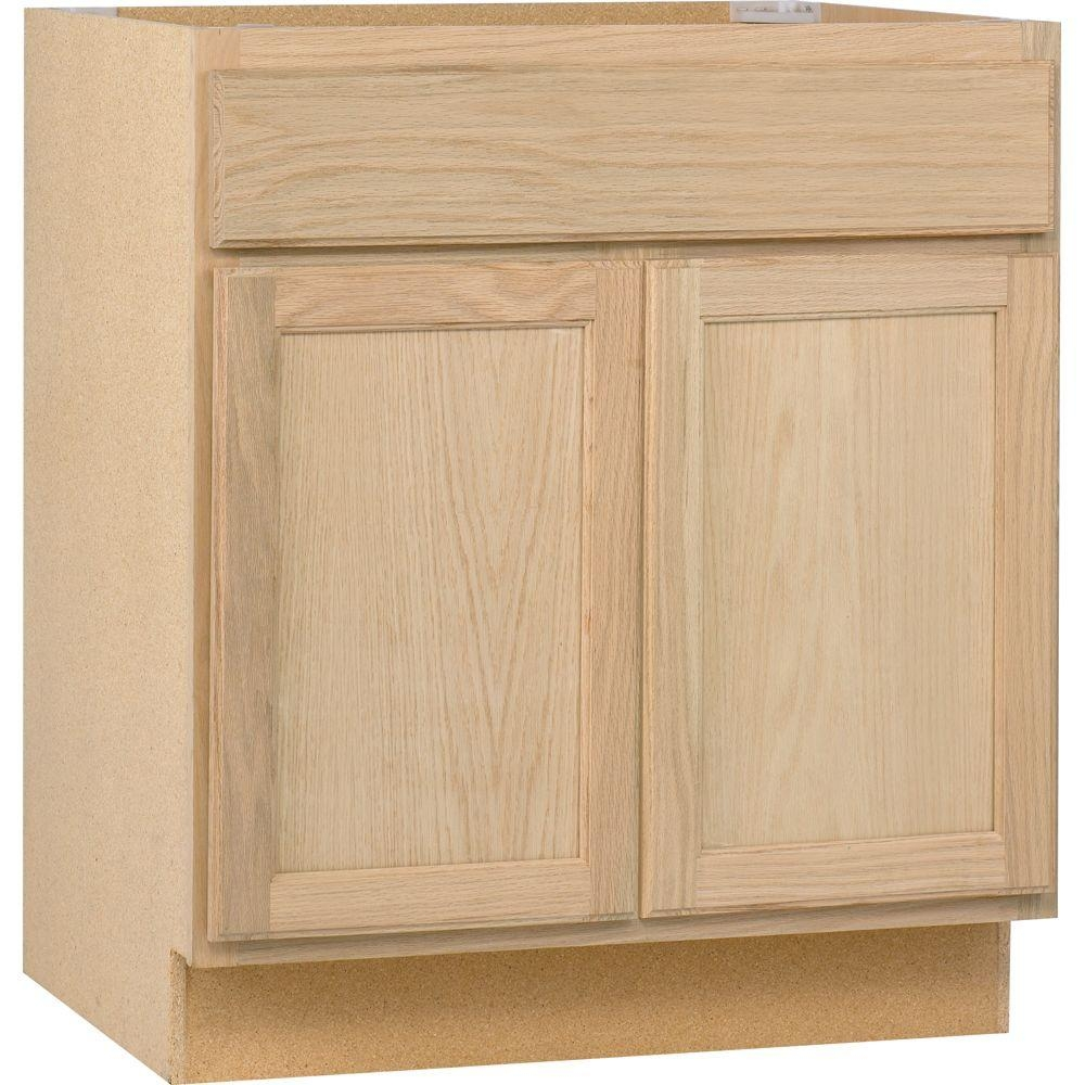 24 Base Kitchen Cabinet With Drawers