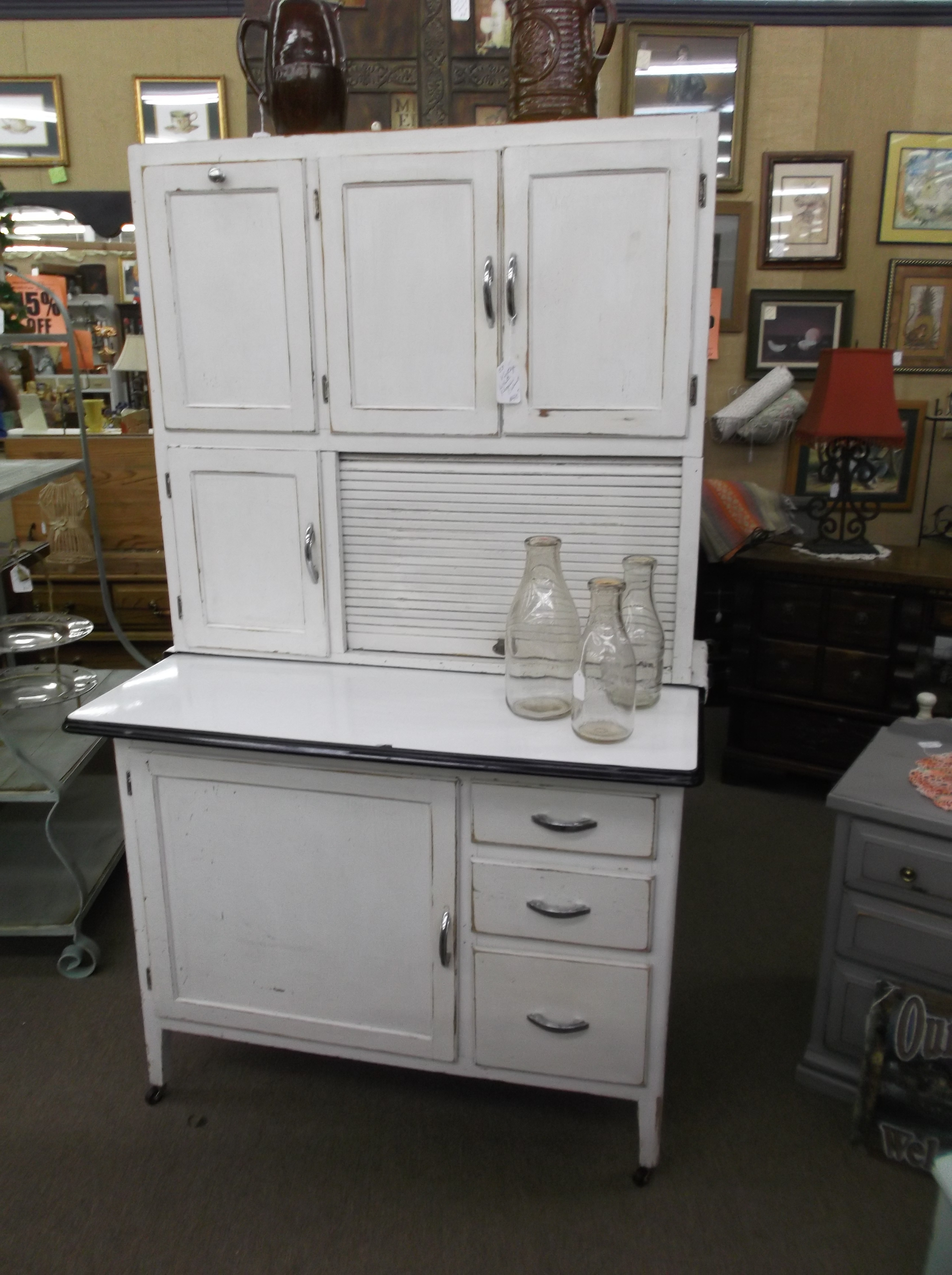 Permalink to Antique Kitchen Cabinets With Flour Sifter