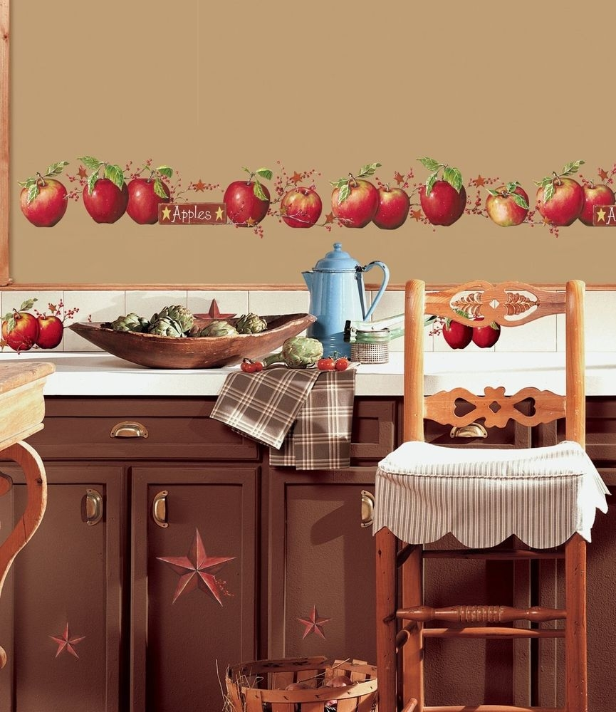 Apple Decals For Kitchen Cabinets