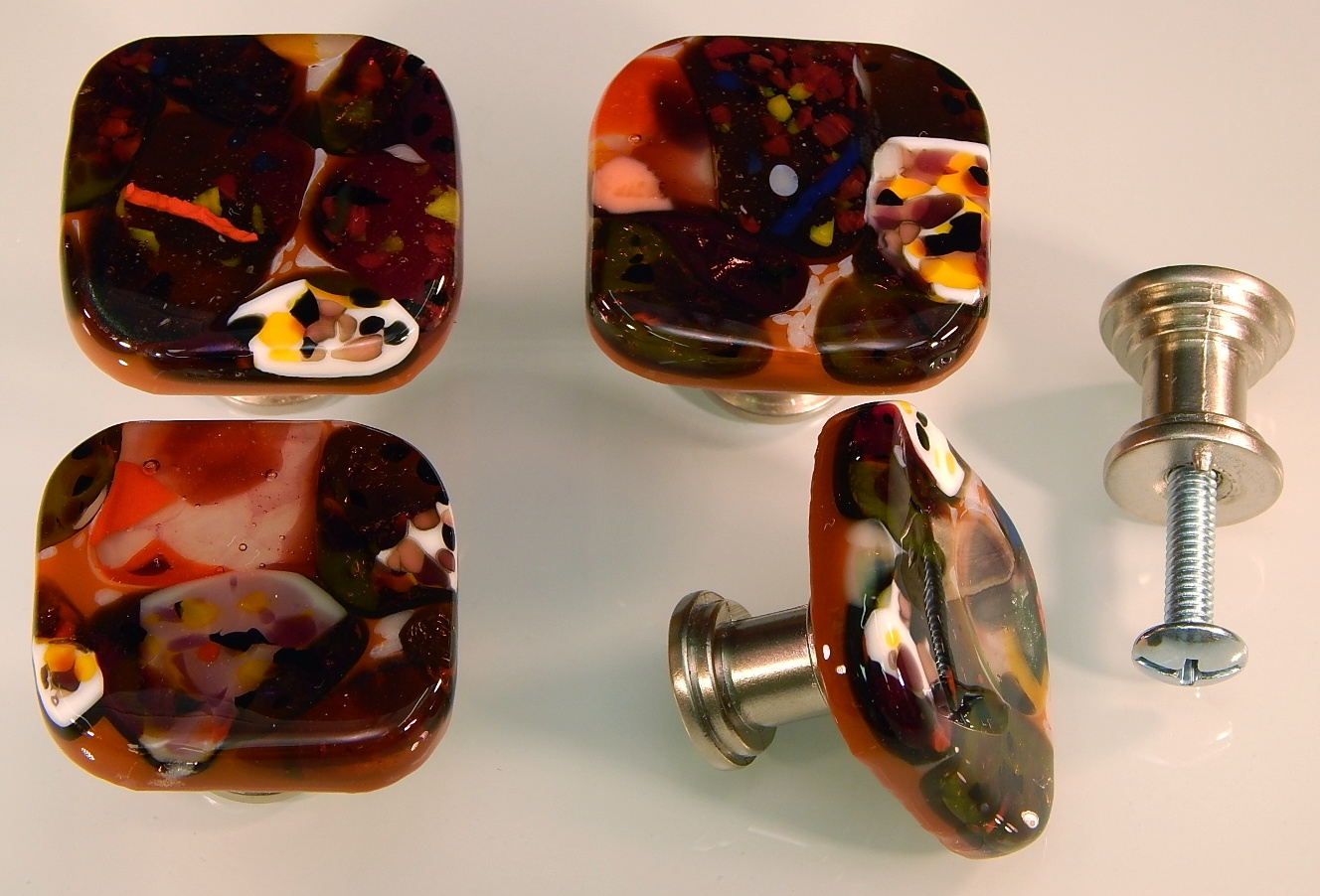 Permalink to Art Glass Kitchen Cabinet Knobs