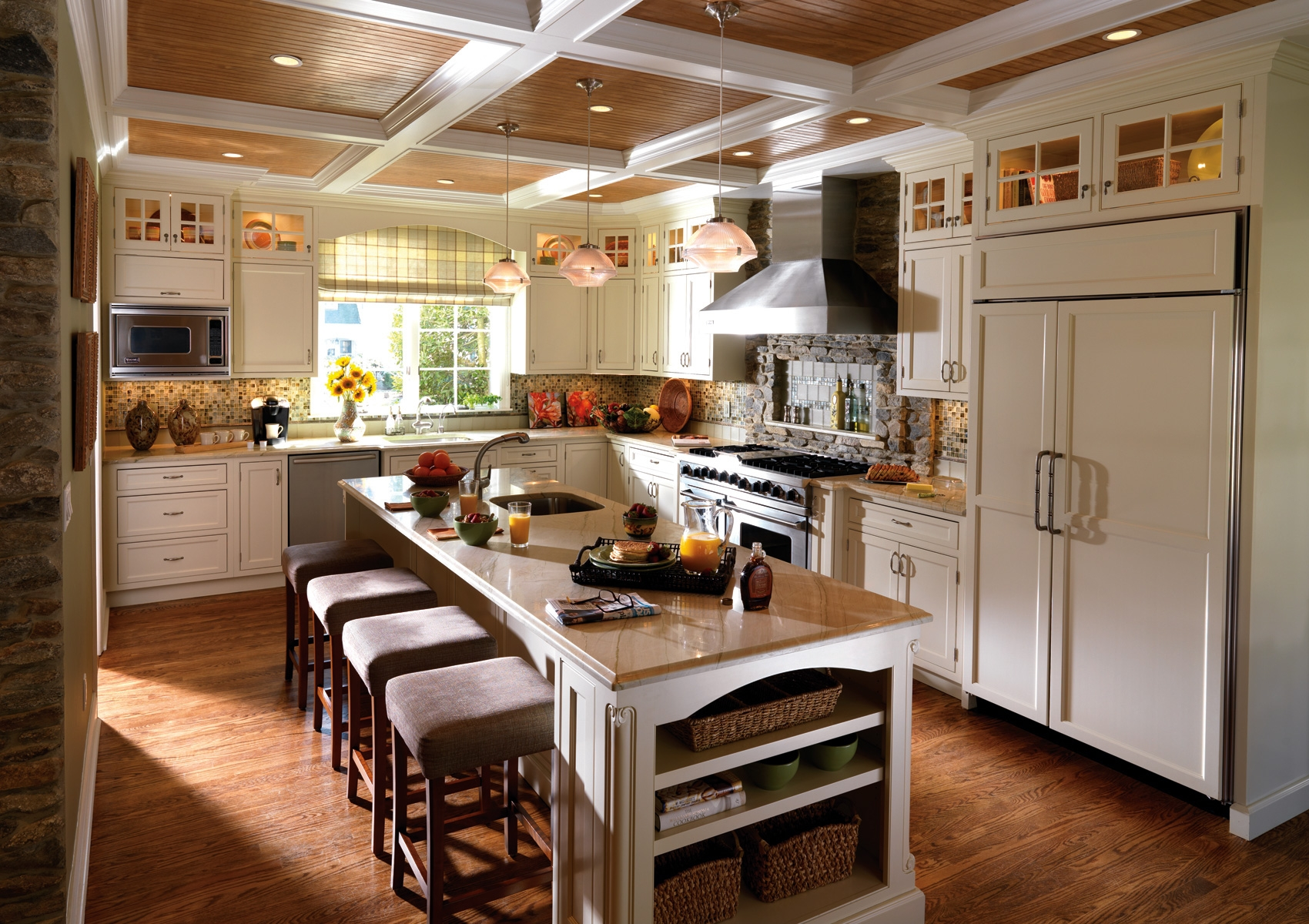 Arts And Crafts White Kitchen Cabinets