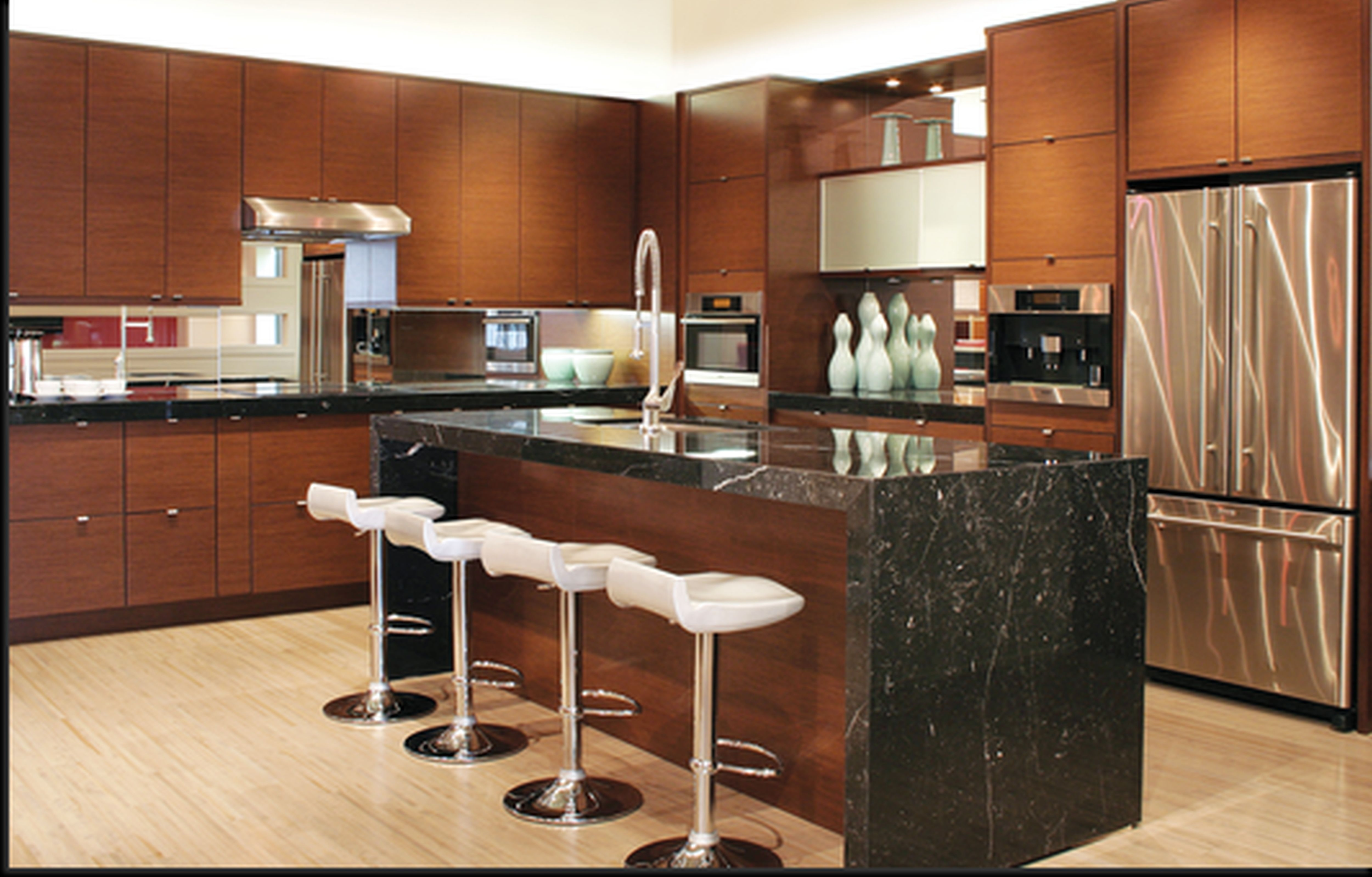 Black Table Top Kitchen Cabinet