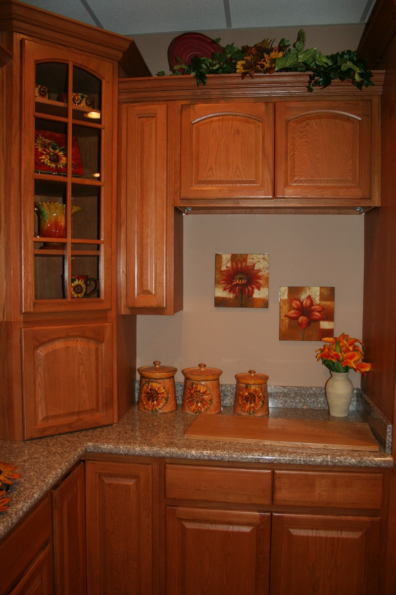 Cinnamon Oak Kitchen Cabinets