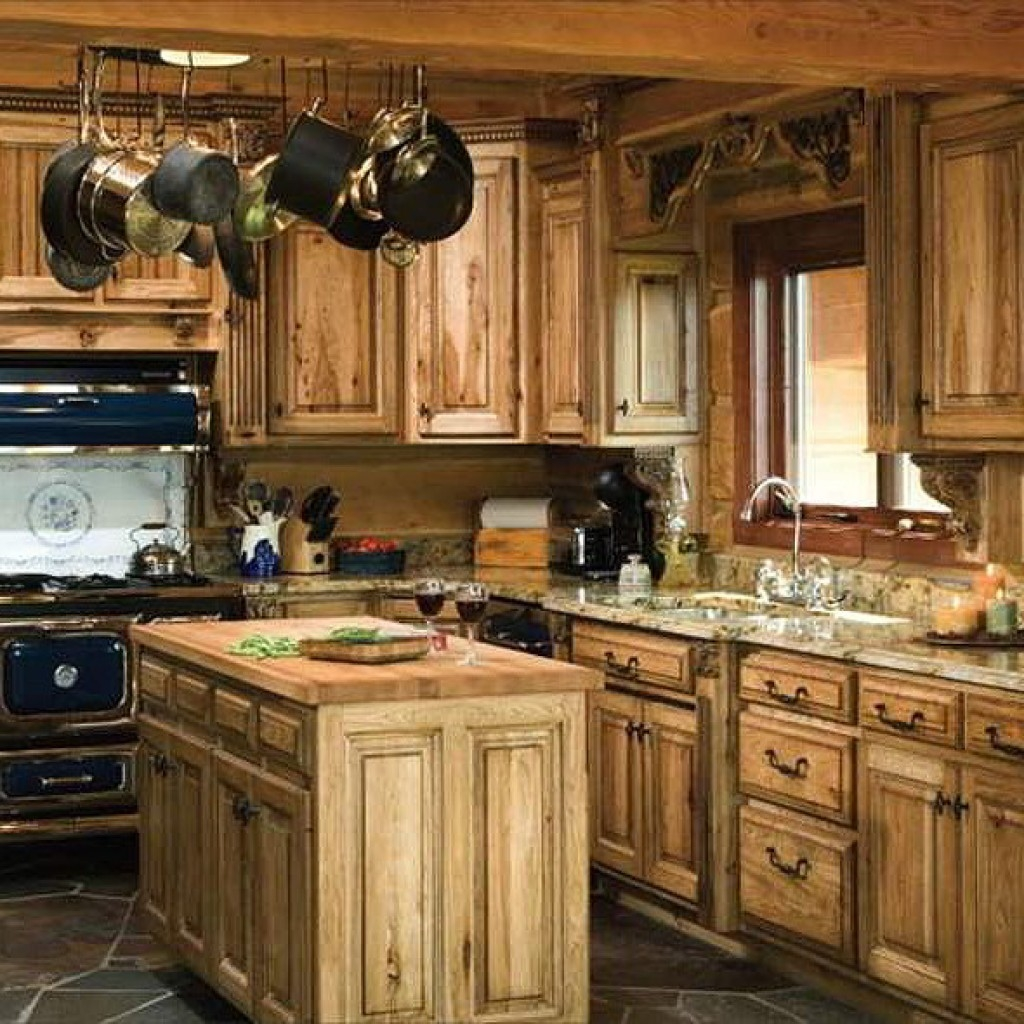 Country Kitchen Cabinet Images