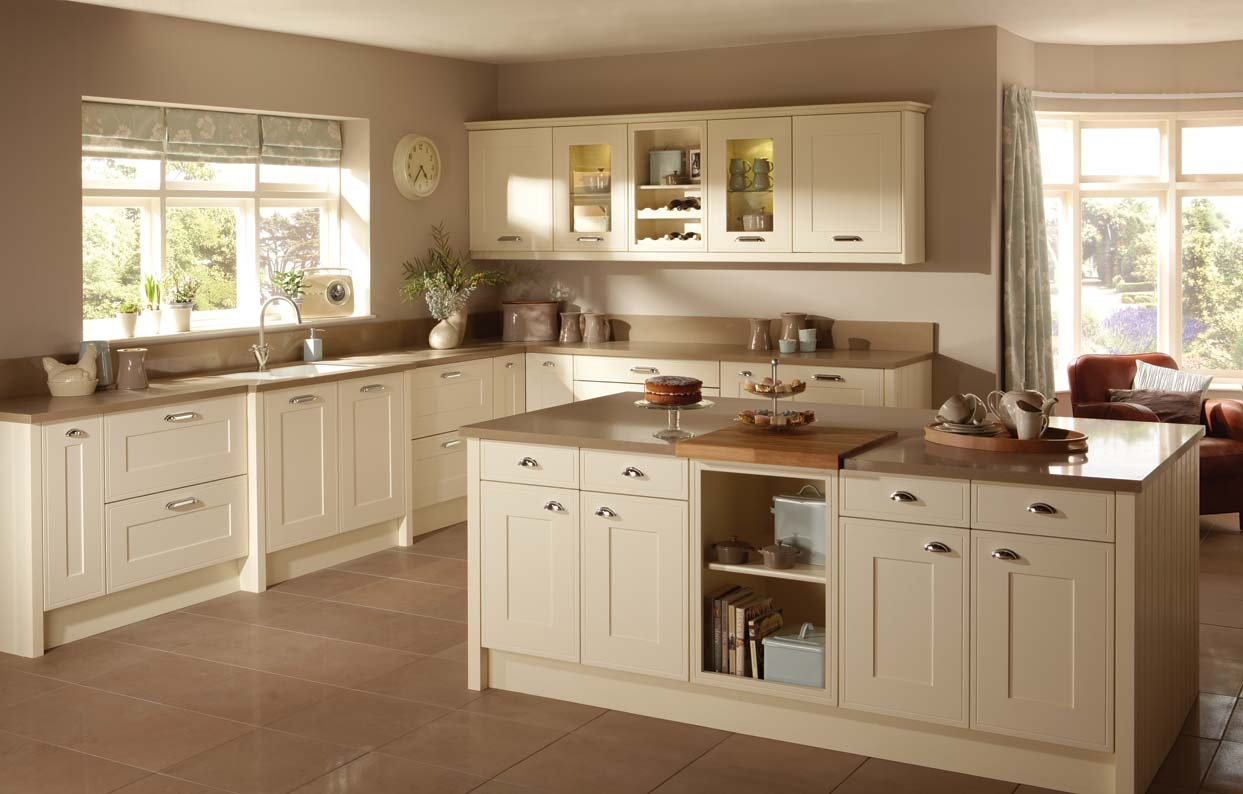 Permalink to Cream Colored Shaker Style Kitchen Cabinets