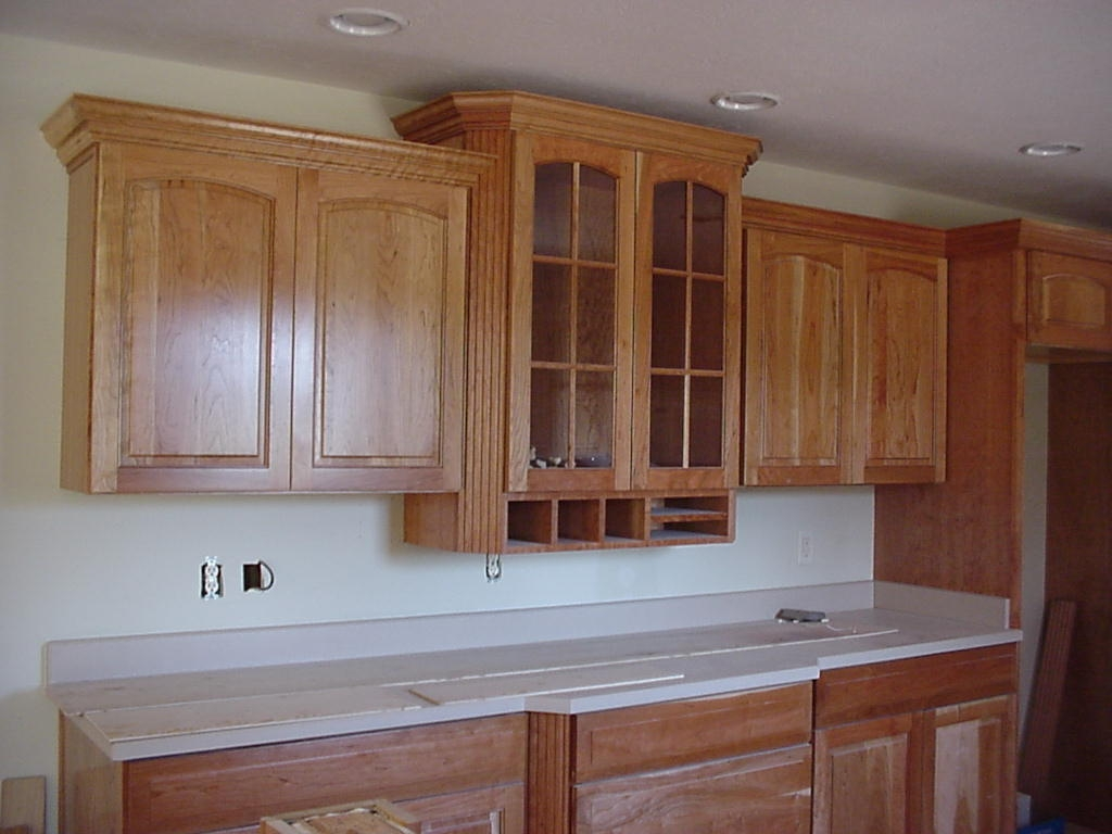 Permalink to Crown Moulding Kitchen Cabinets Pictures