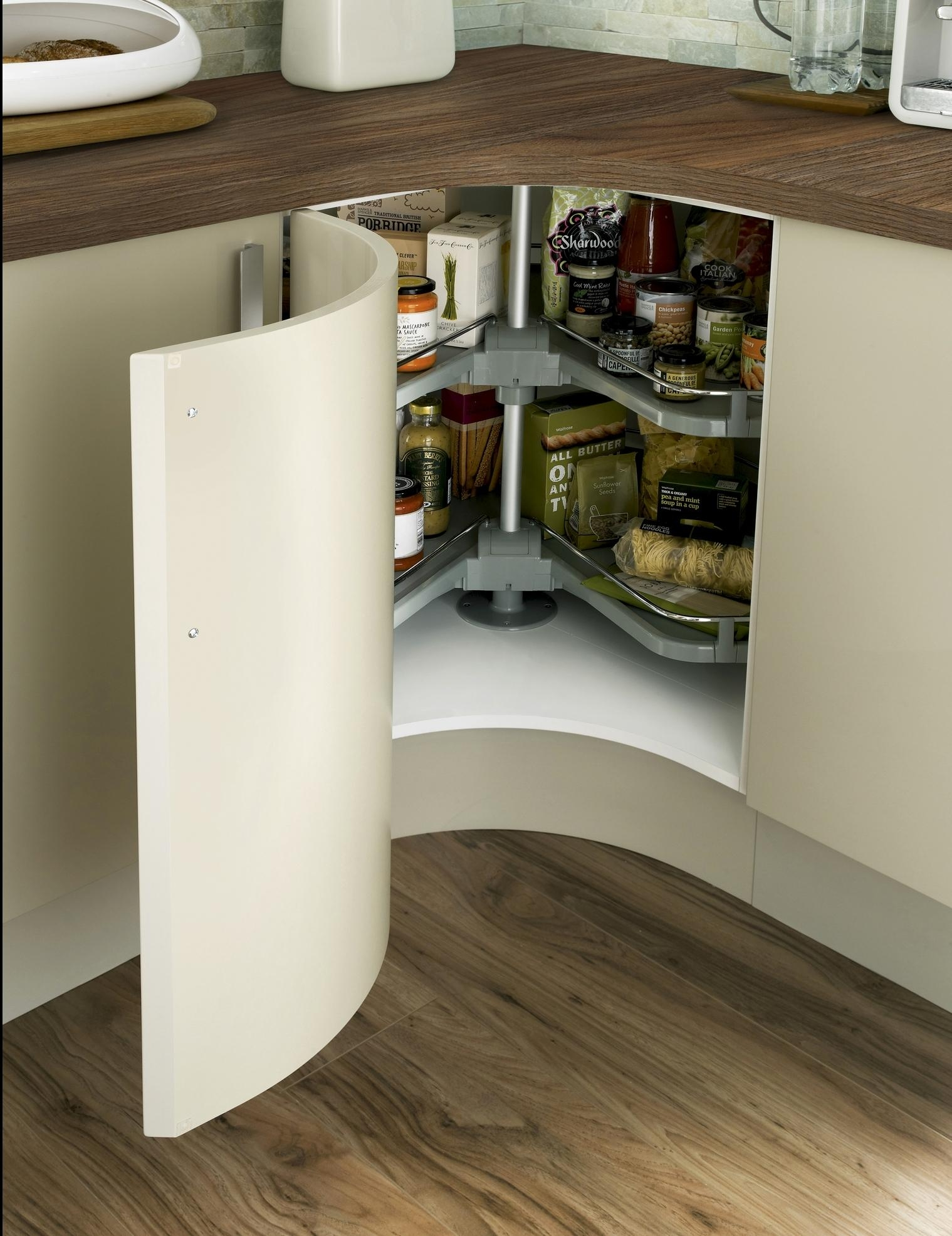Permalink to Curved Corner Kitchen Cabinets