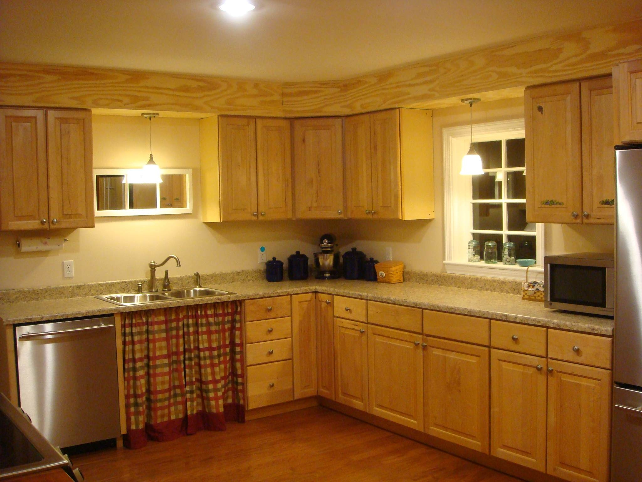 Permalink to Decorating Ideas For Soffit Above Kitchen Cabinets