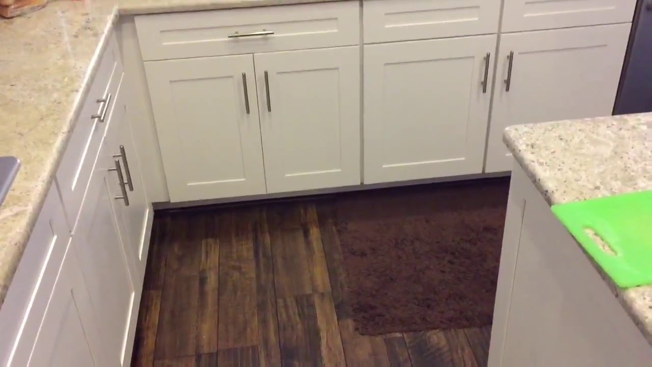 Floating Floor Kitchen Cabinets