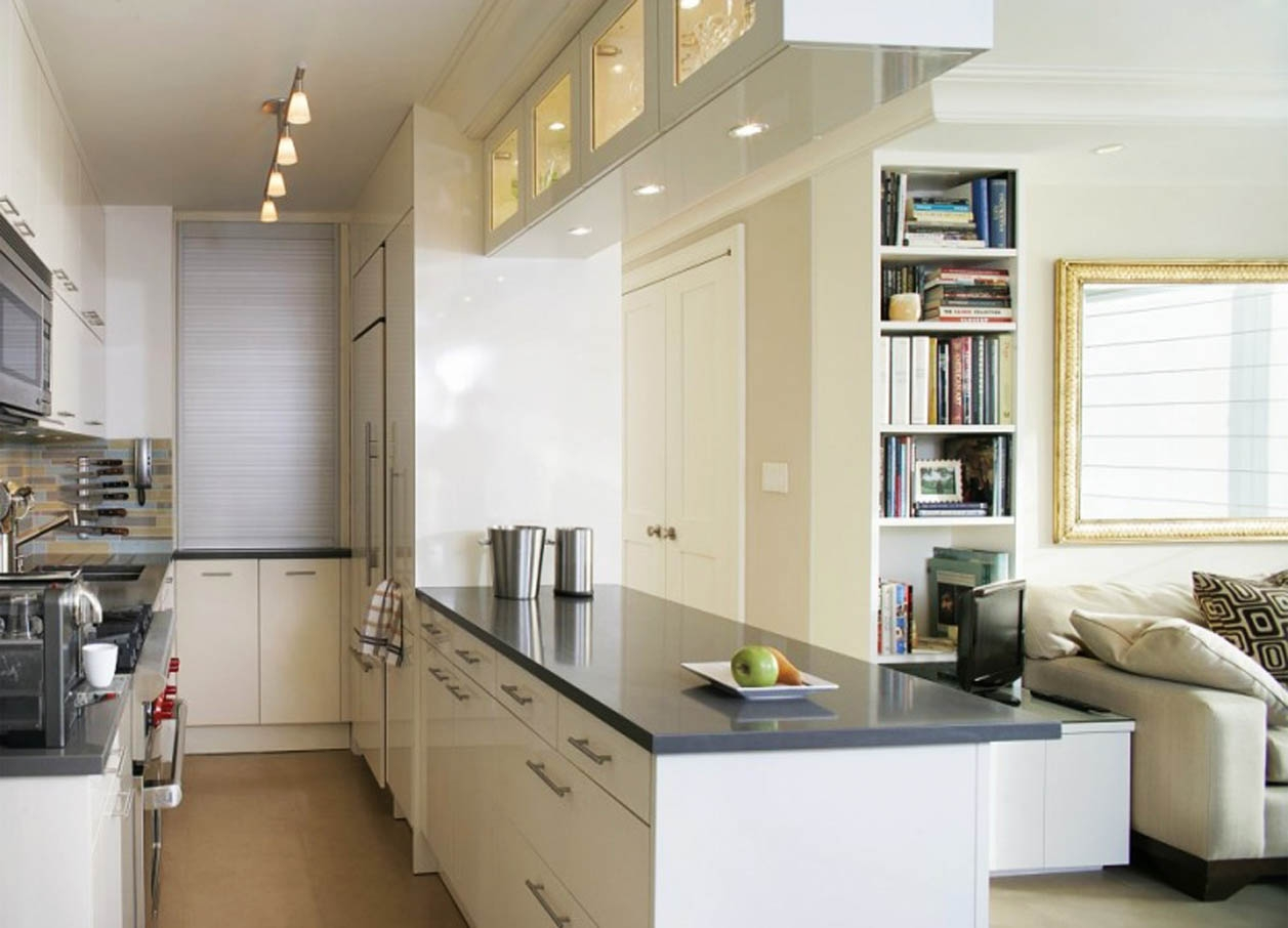 Permalink to Galley Kitchen Cabinets Photos
