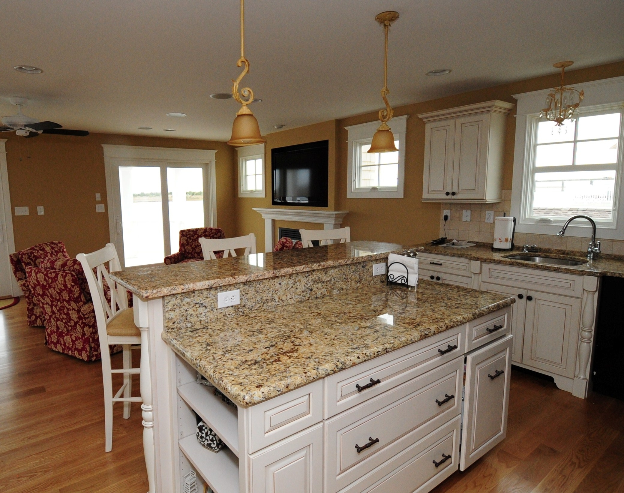 Permalink to Granite Colors For White Kitchen Cabinets