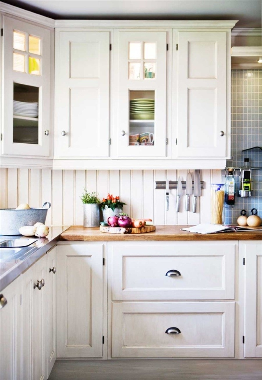 Hardware White Kitchen Cabinets