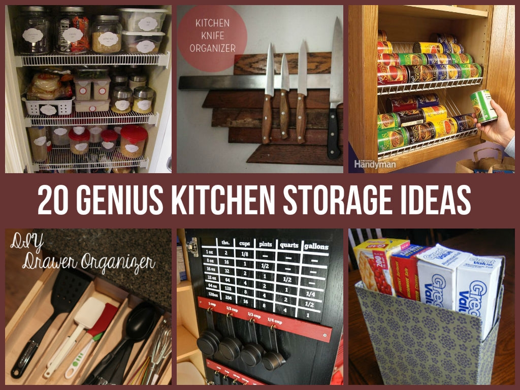 Ideas For Kitchen Cabinet Storage