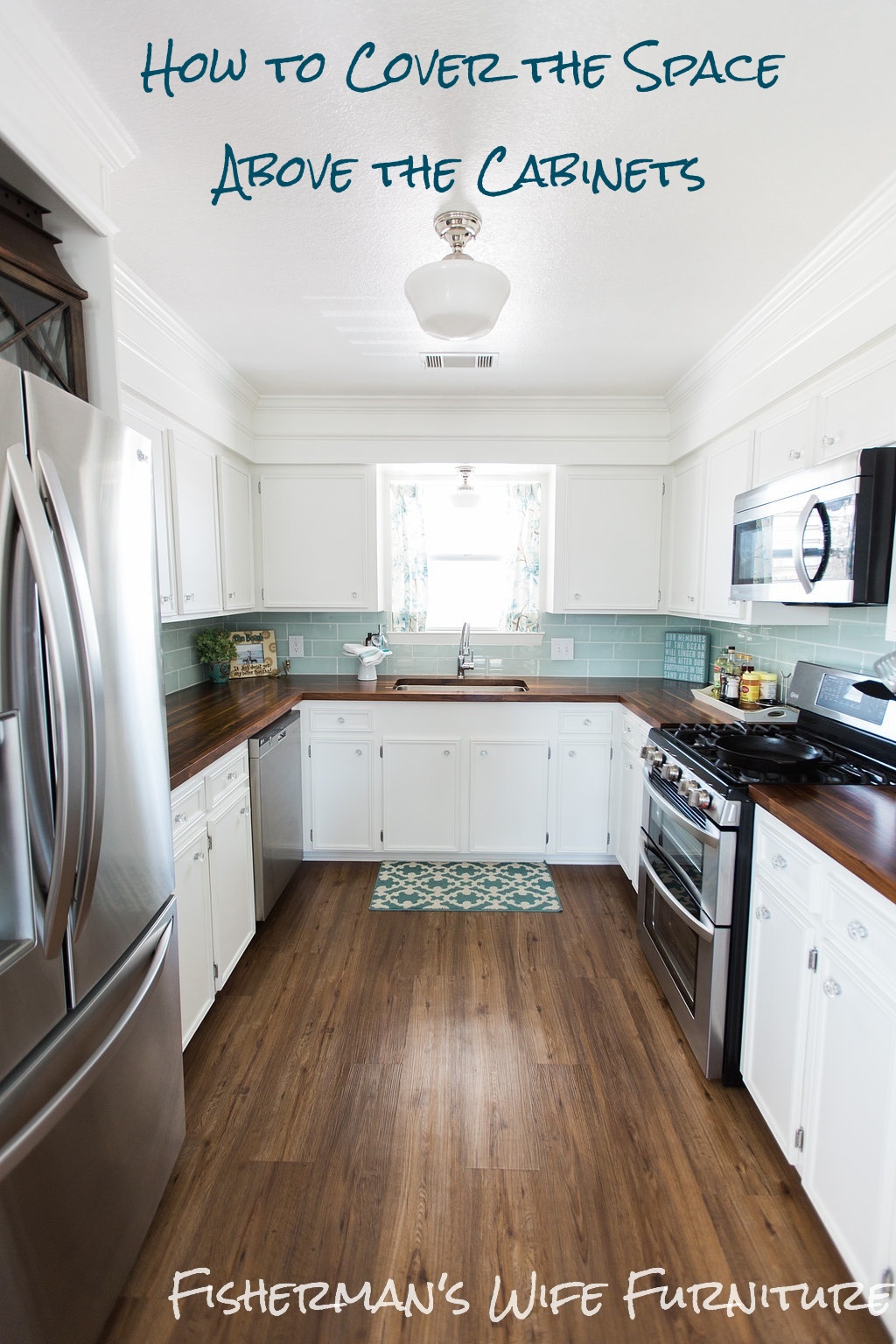 Ideas For Space On Top Of Kitchen Cabinets1024 X 1536