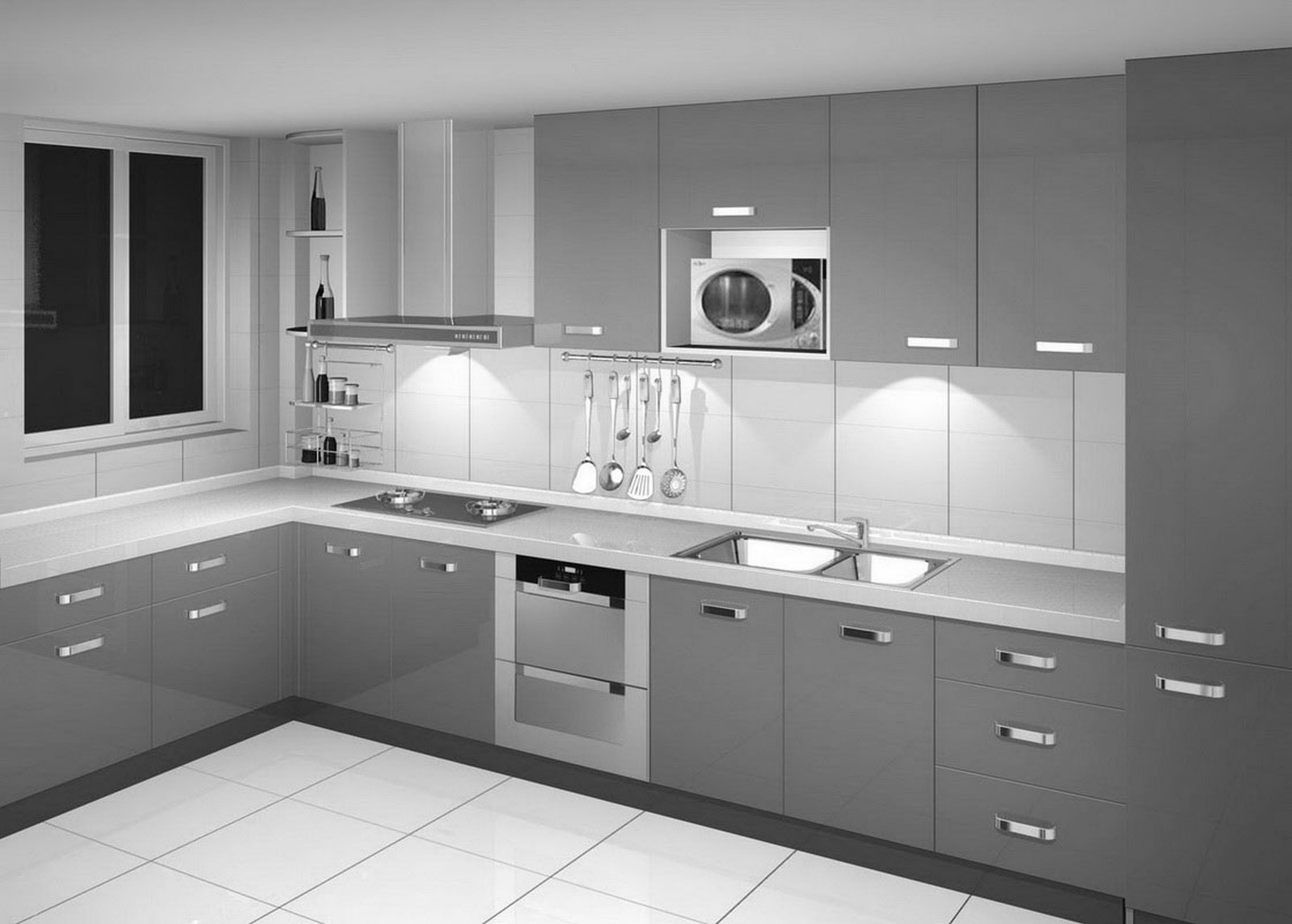 Kitchen Cabinet Color Gray