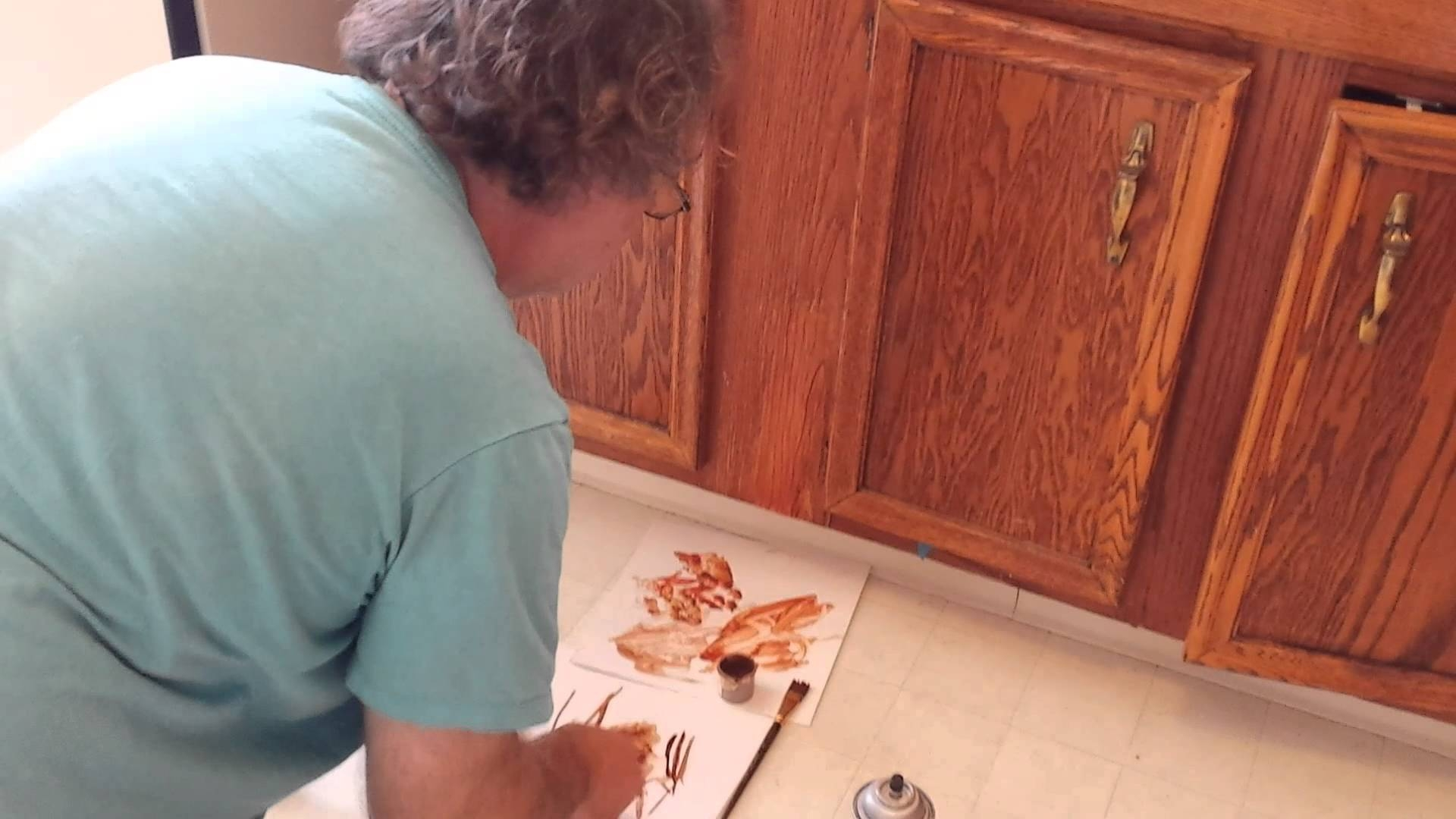 Kitchen Cabinet Finish Touch Up