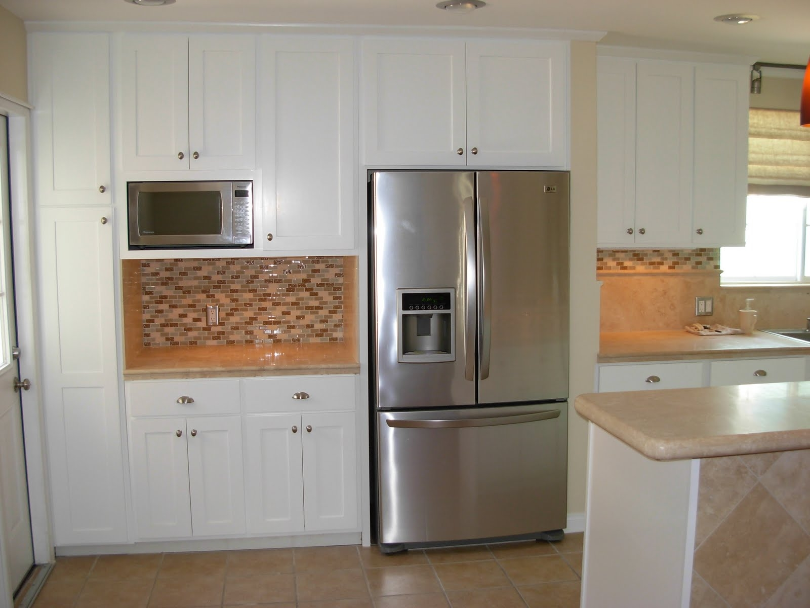Kitchen Cabinets Accent Pieces