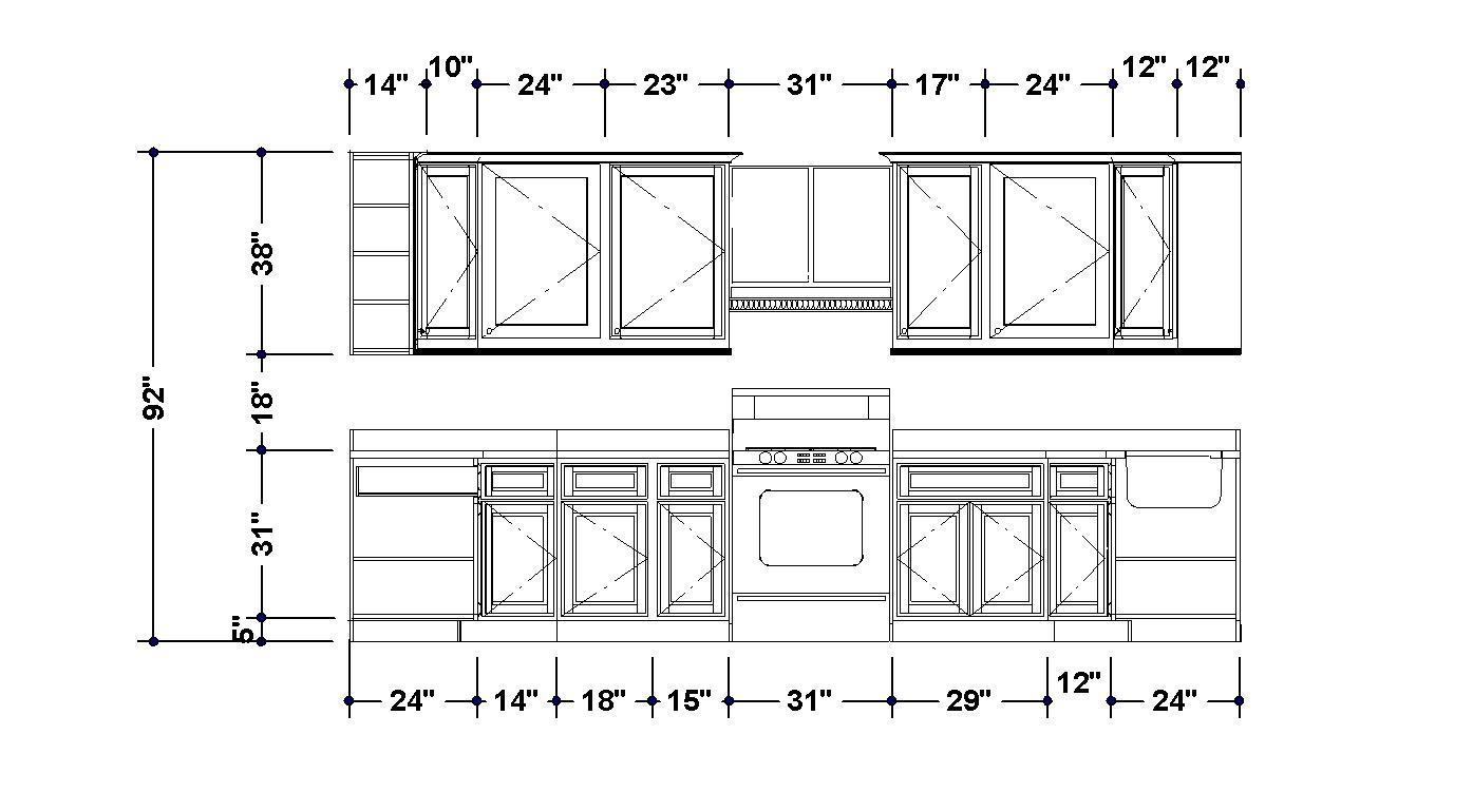 Kitchen Cabinets Cad Models