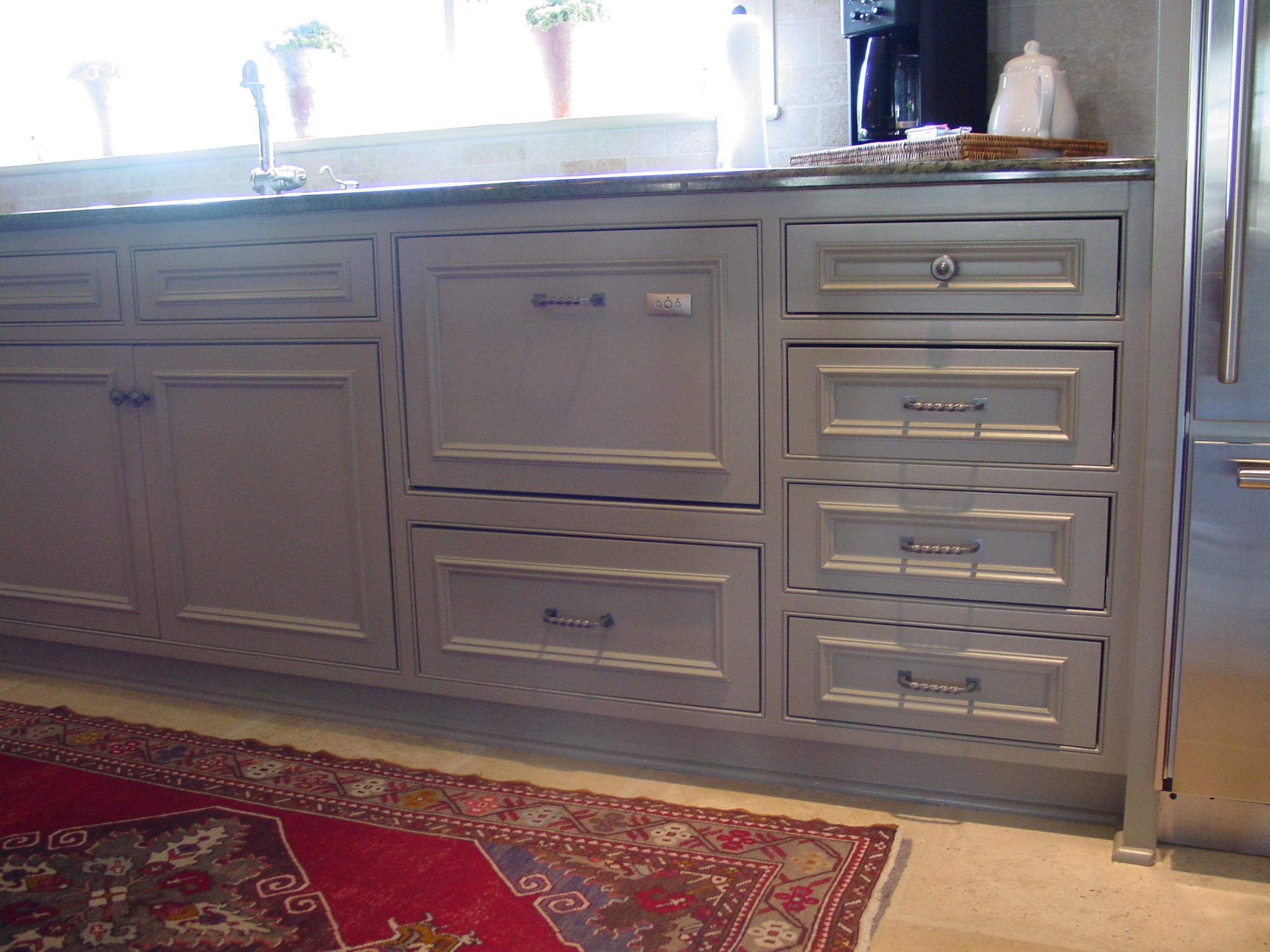 Kitchen Cabinets With Applied Molding