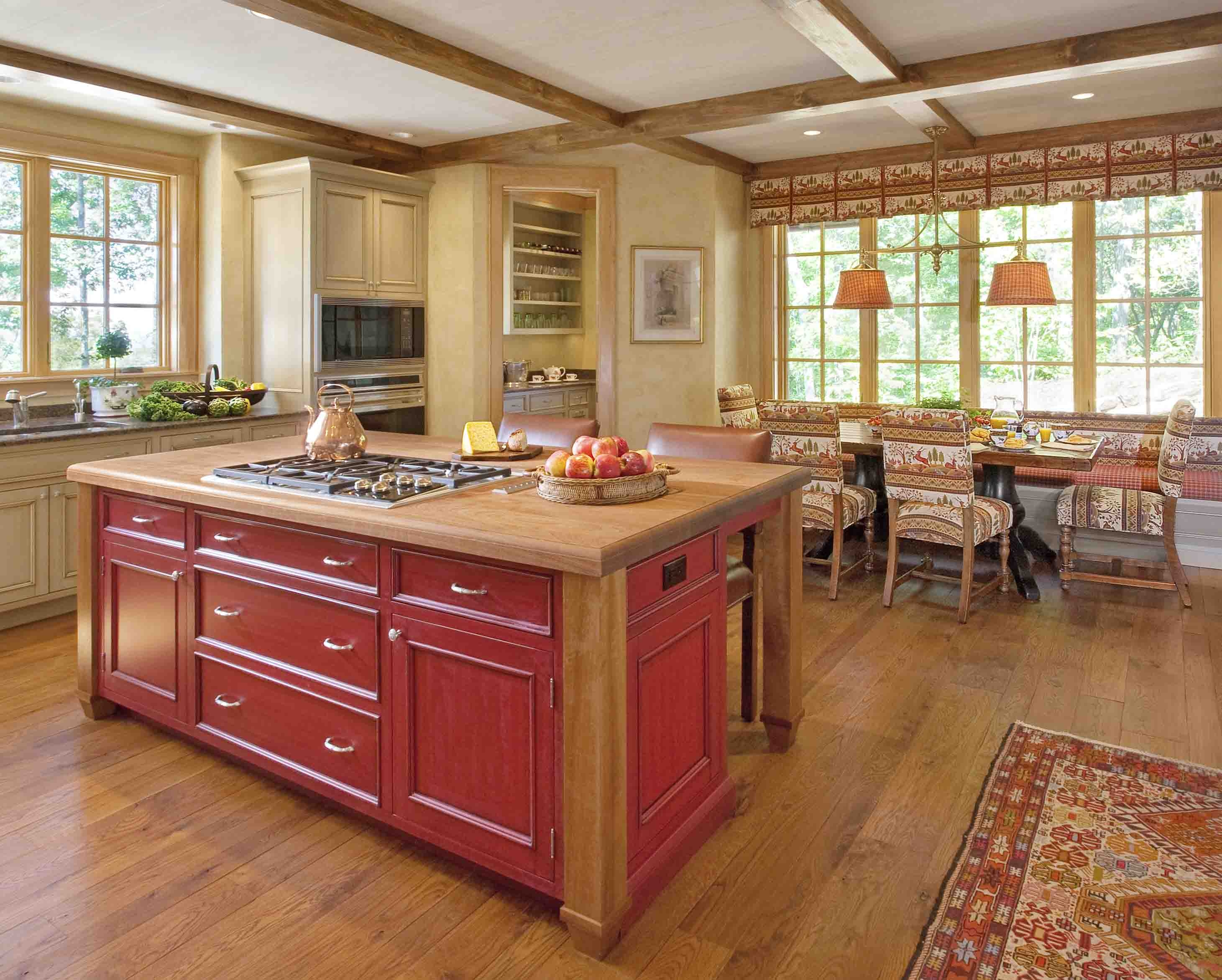 Kitchen Cabinets With Island Ideas