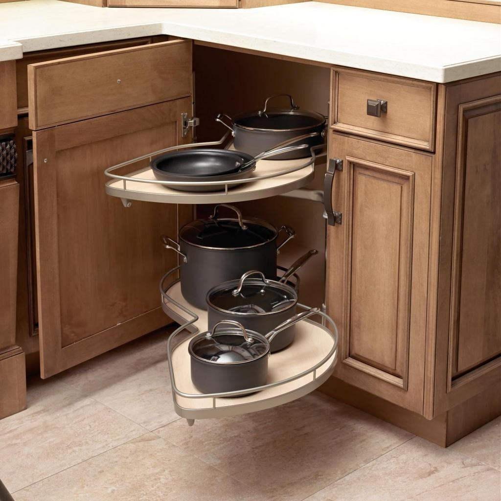 Permalink to Kitchen Corner Cabinet Storage Options