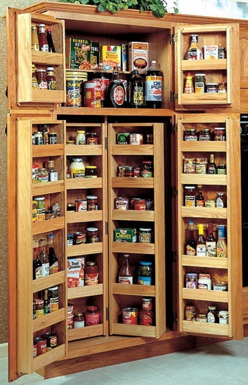 Kitchen Pantry Cabinet Storage