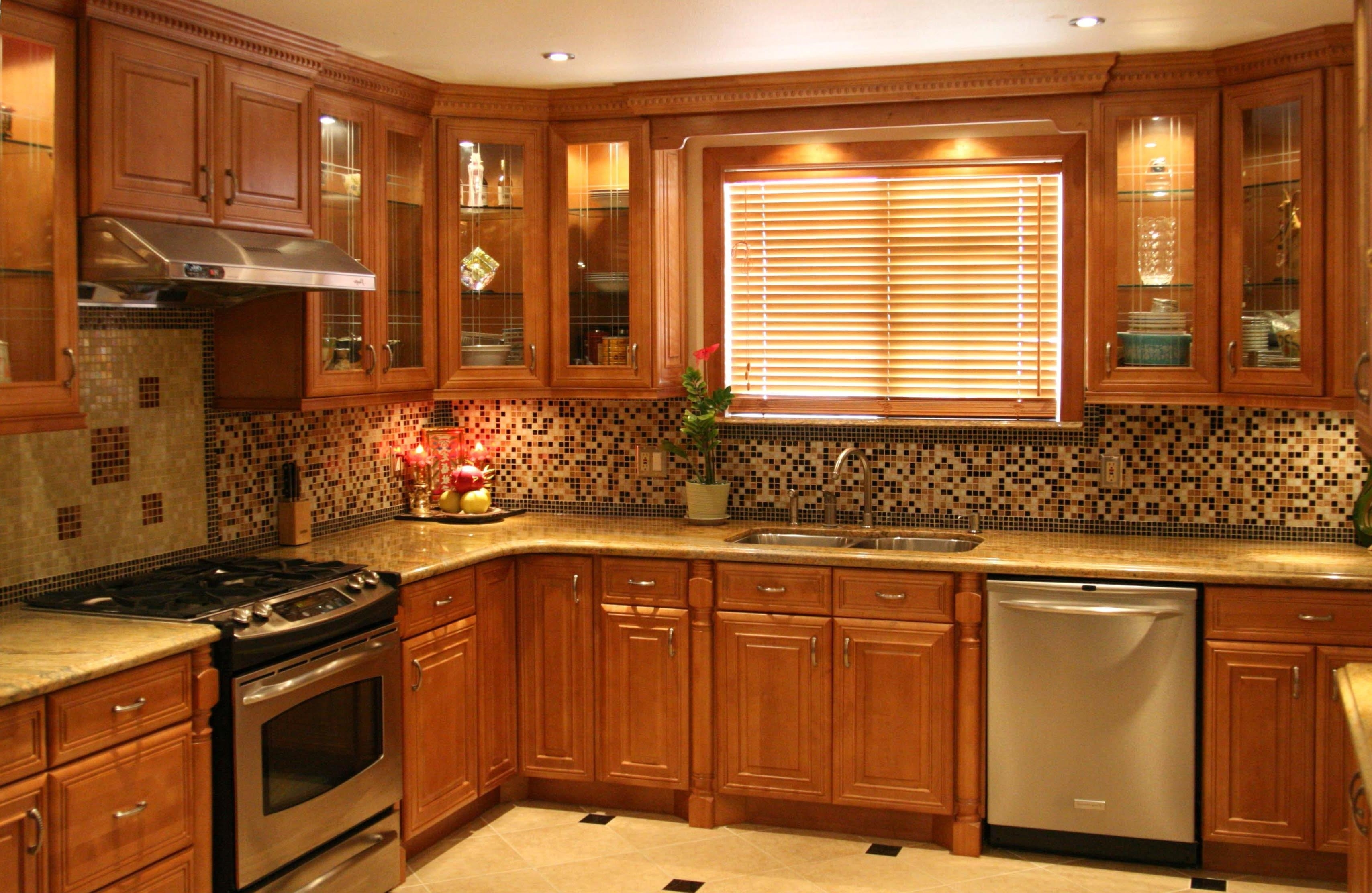 Permalink to Light Natural Maple Kitchen Cabinets