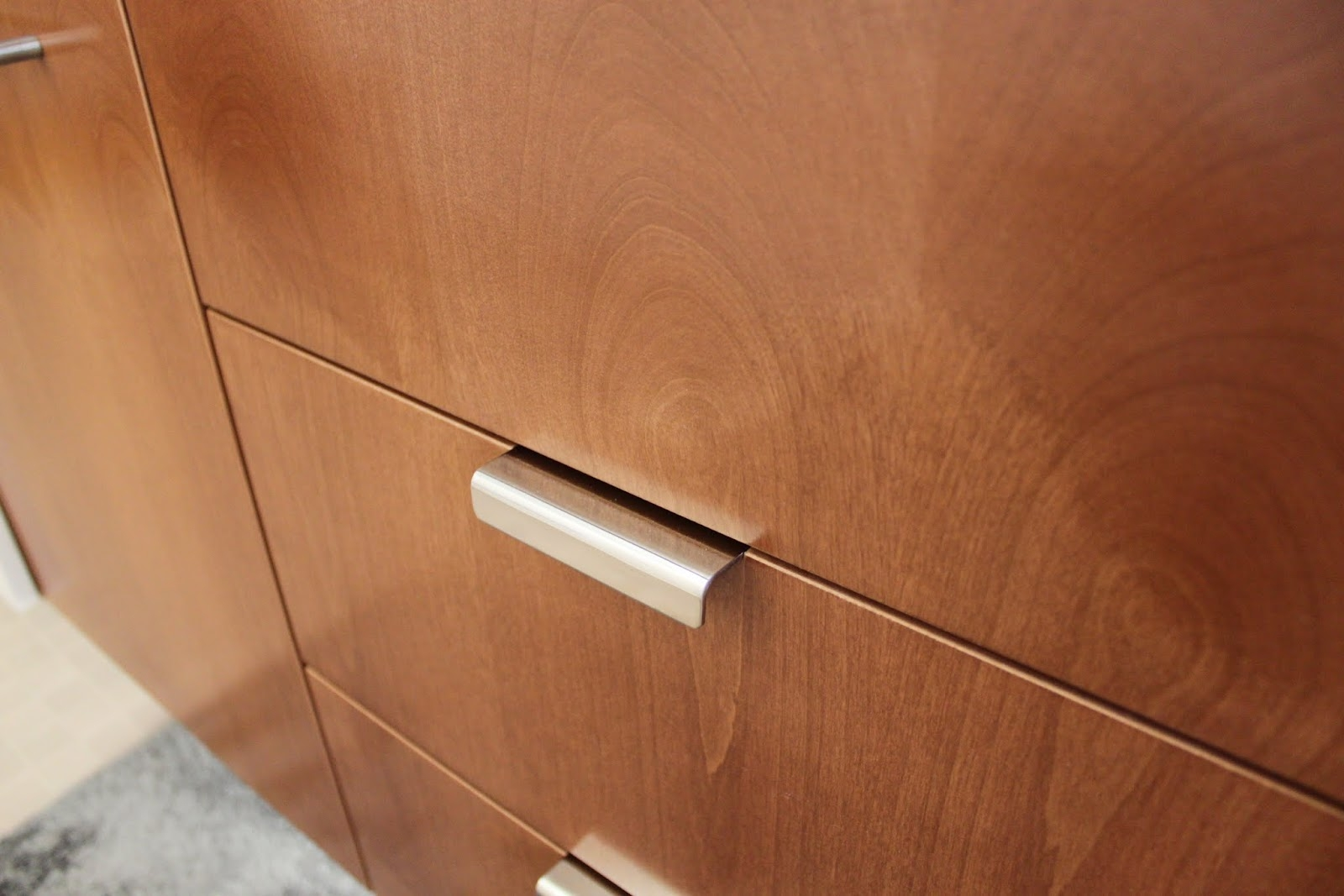 Modern Chrome Kitchen Cabinet Handles