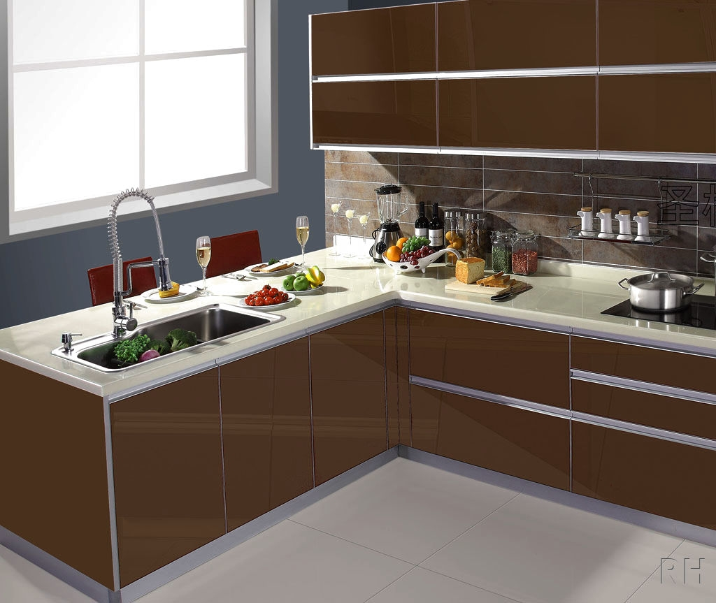Modern Kitchen Cabinets No Handles1024 X 863