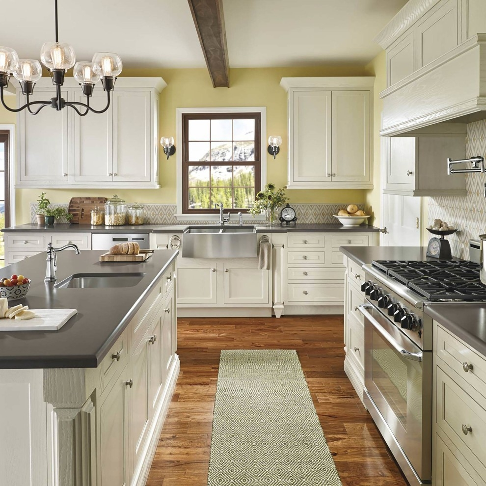 Permalink to Nice White Kitchen Cabinets