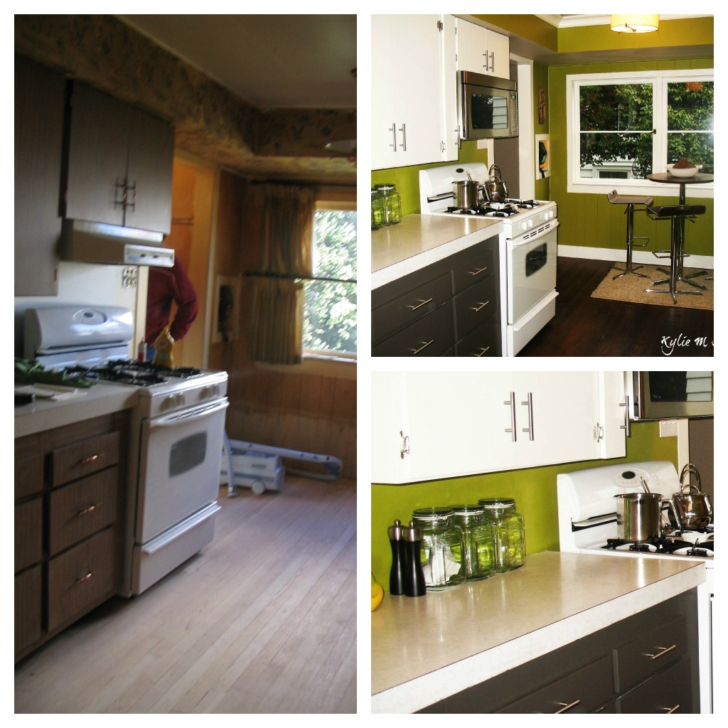 Old Kitchen Cabinets Before And After