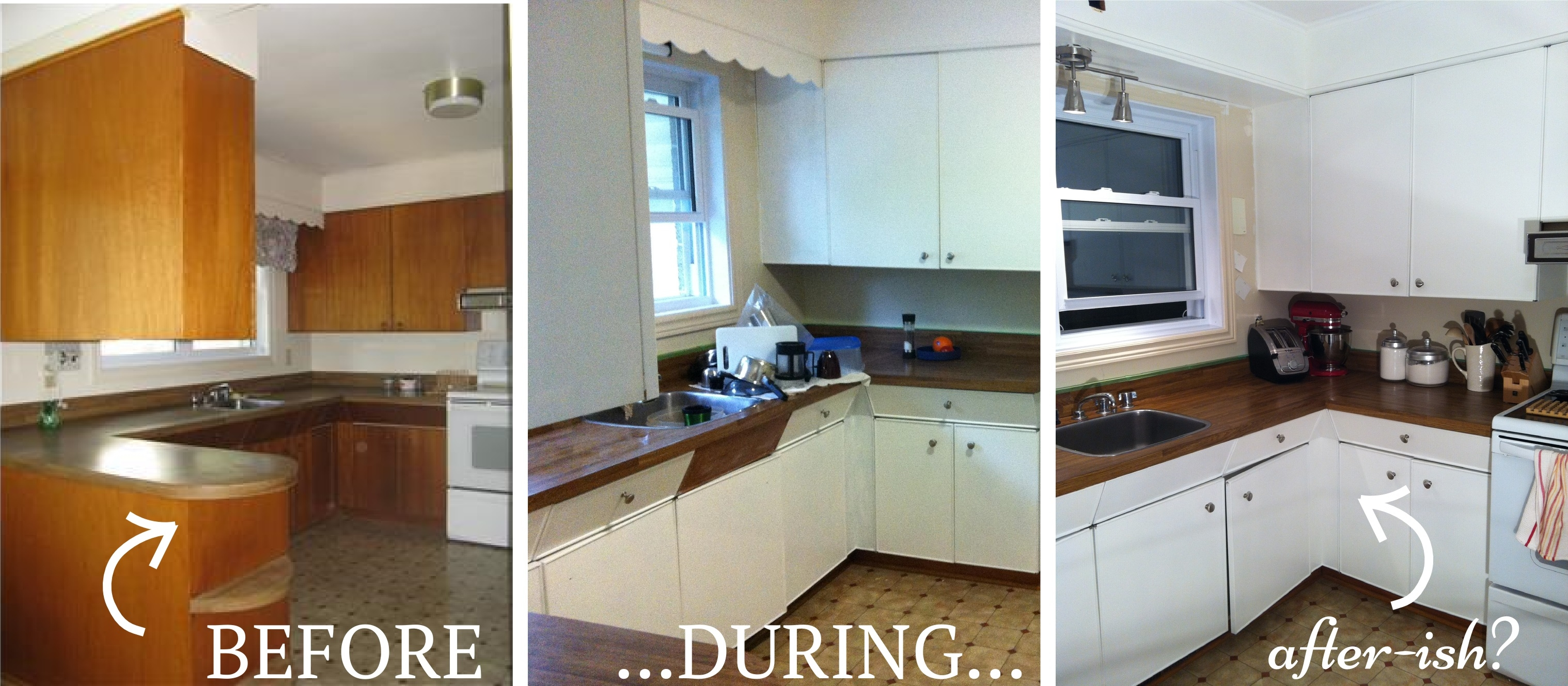 Old Kitchen Cabinets To New
