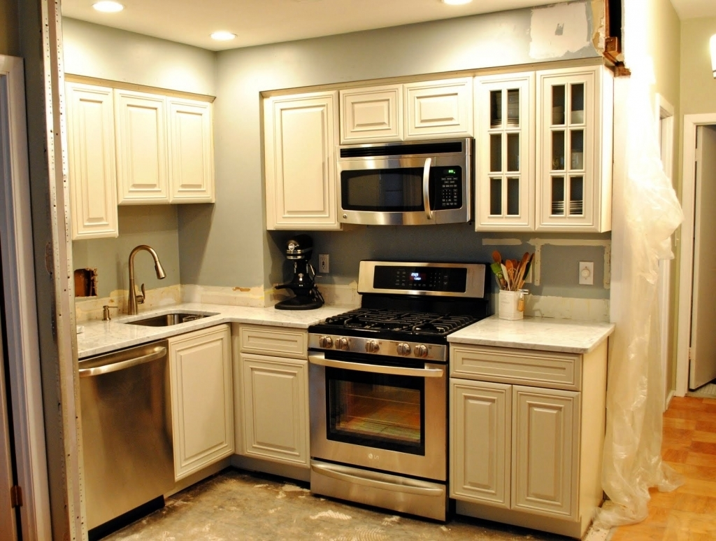 Permalink to Pictures Of Kitchen Cabinets For Small Kitchens
