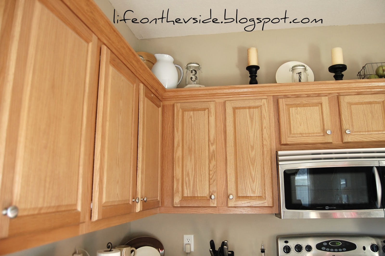 Placing Hardware On Kitchen Cabinets