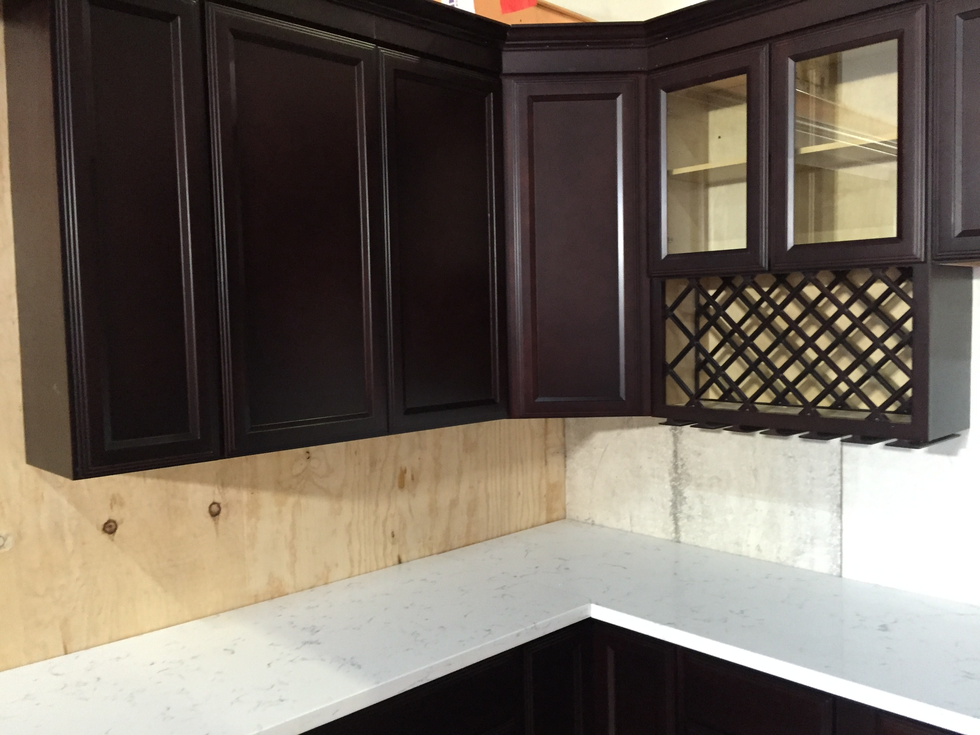 Recessed Door Cabinets Kitchen