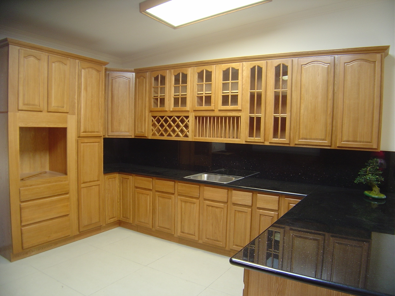 Permalink to Solid Oak Wood Kitchen Cabinets