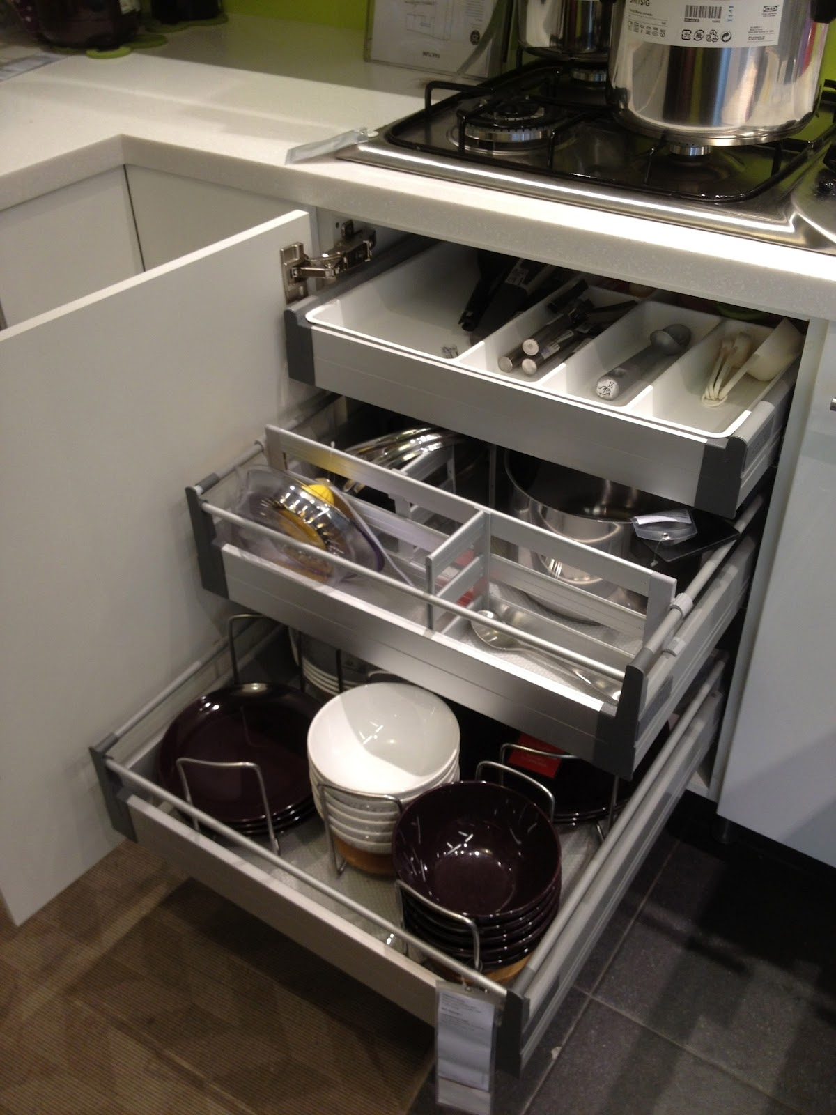 Stainless Steel Baskets For Kitchen Cabinets