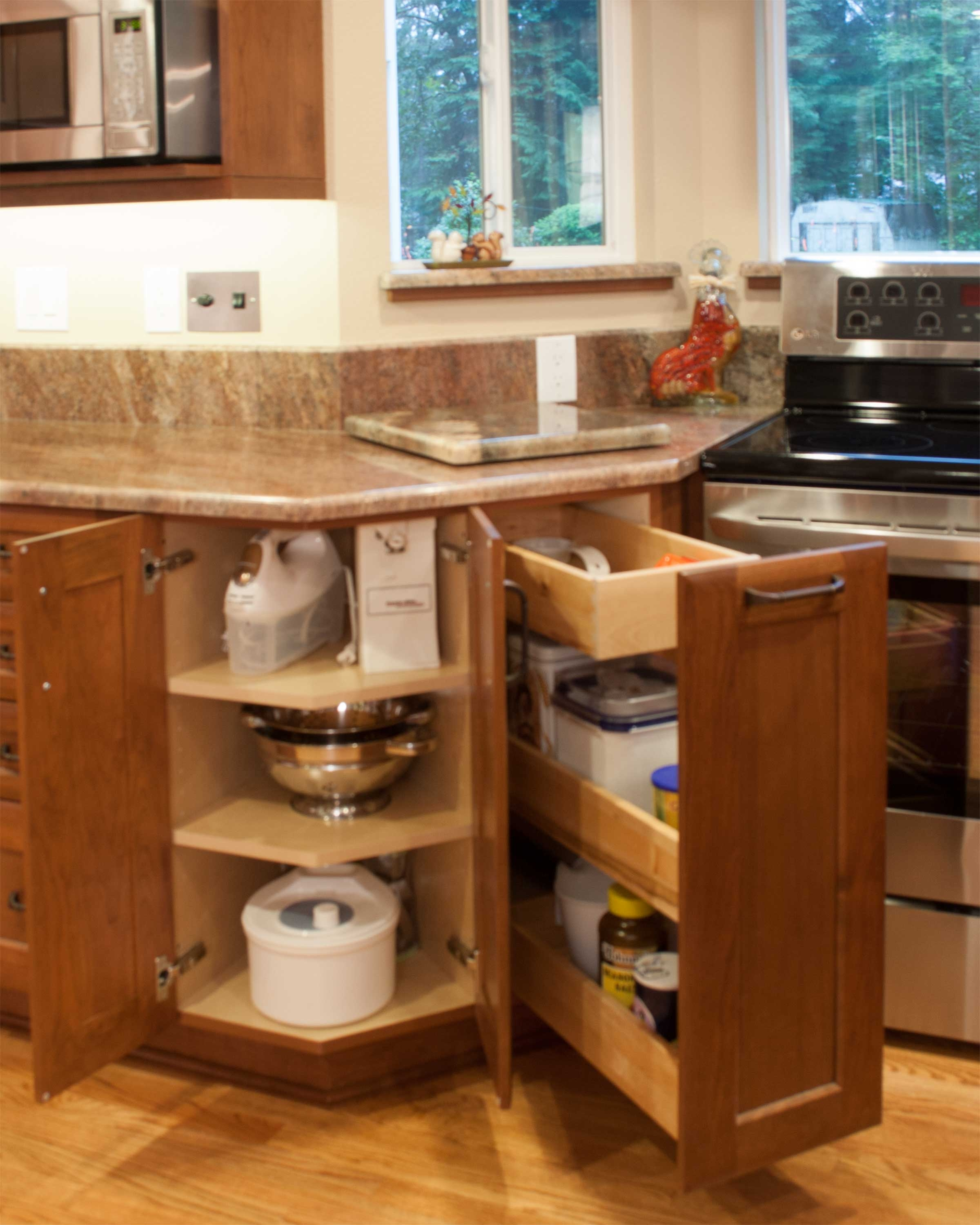 Permalink to Unique Wood Kitchen Cabinets