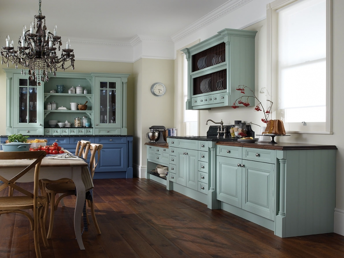 Permalink to Vintage Blue Kitchen Cabinets