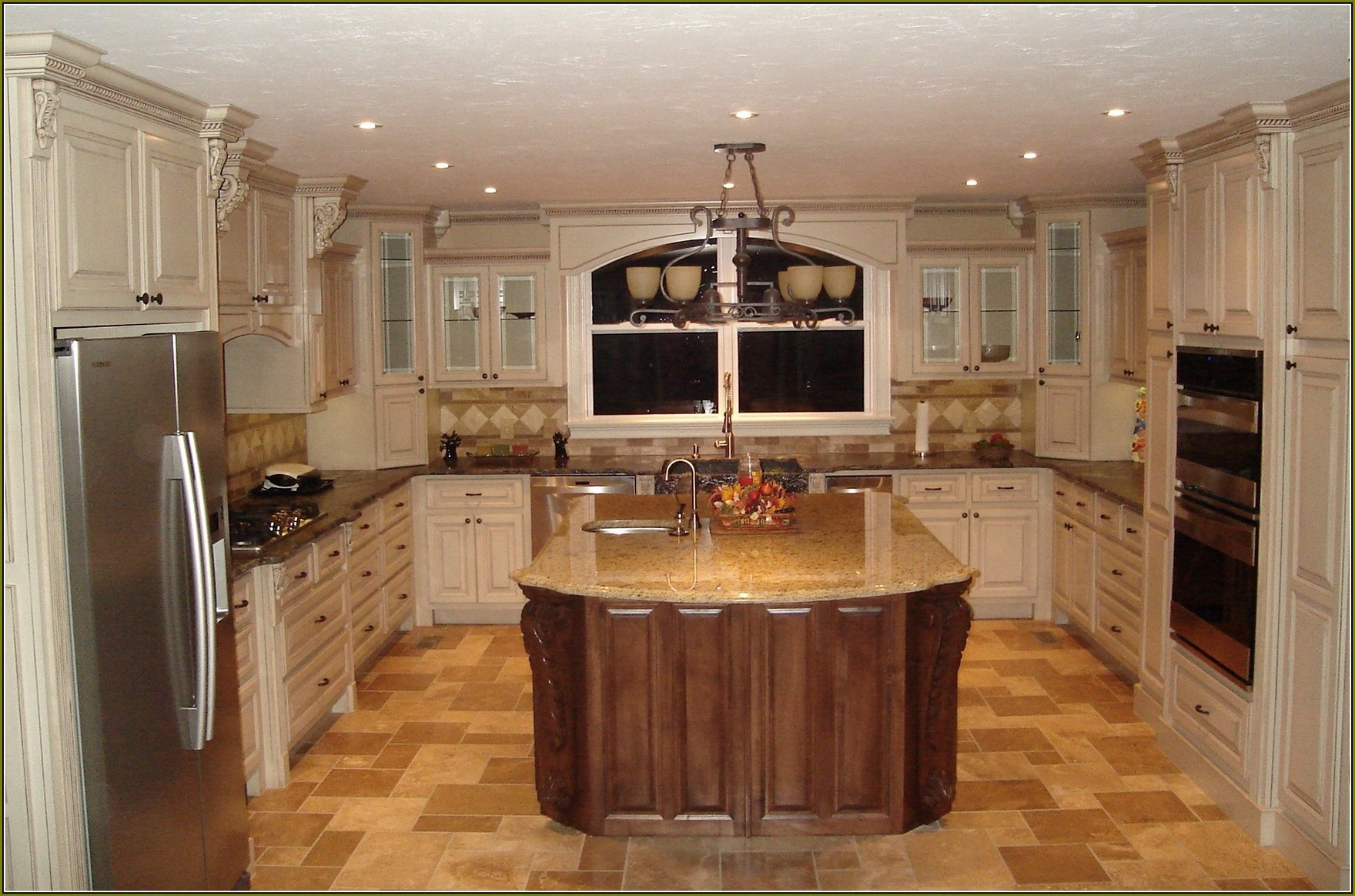 White Chocolate Kitchen Cabinets
