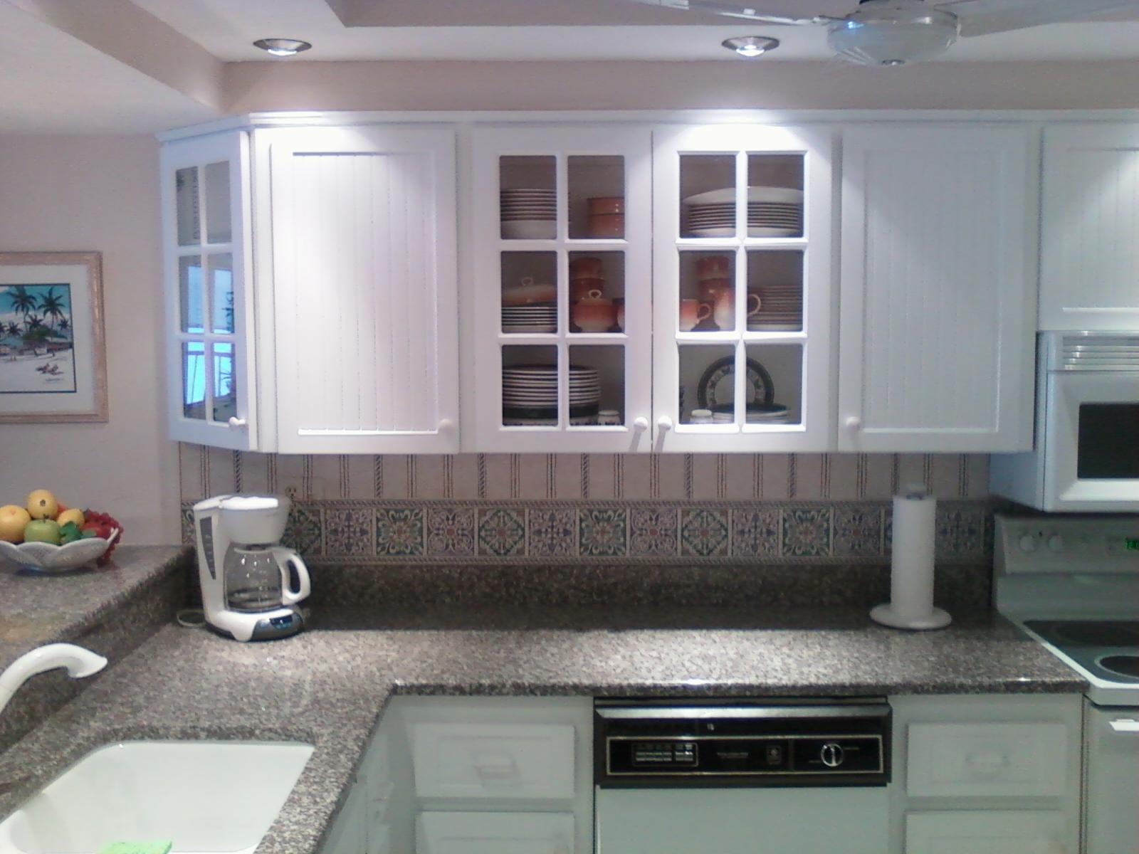 White Thermofoil Kitchen Cabinet Doors1600 X 1200
