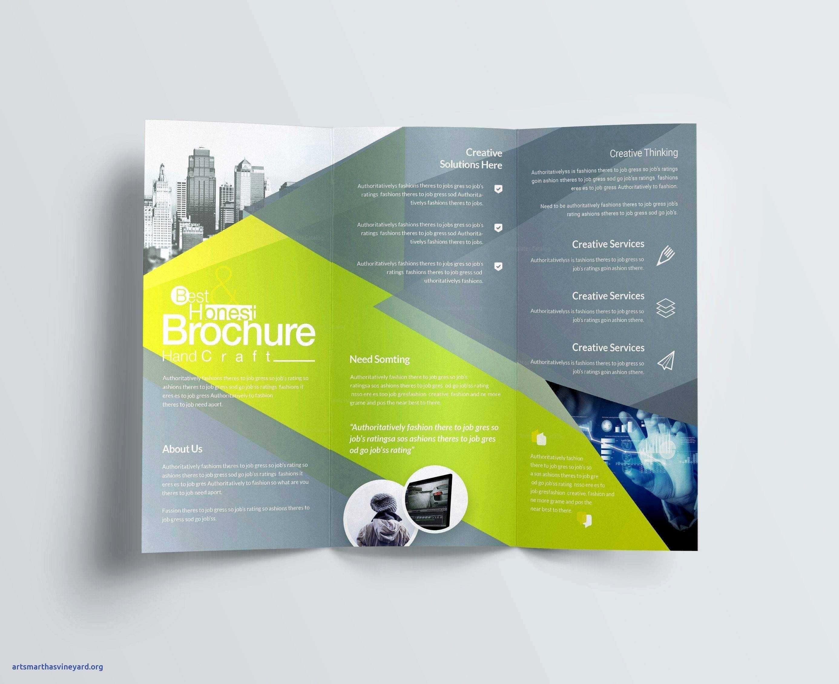 3 Folds Brochure Great after Effects Intro Template Free