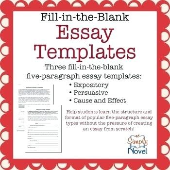 photo about Five Paragraph Essay Outline Printable called 51 5 Paragraph Essay Determine Template Printable