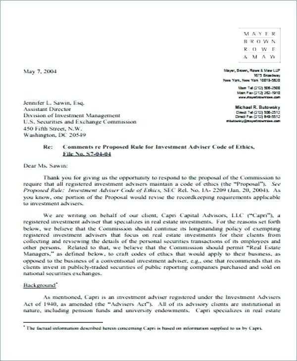 54 Investment Proposal Sample Letter