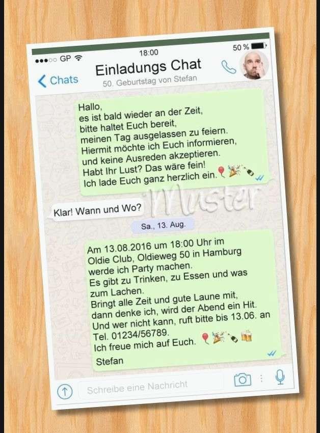 Einladung Richtfest Whatsapp