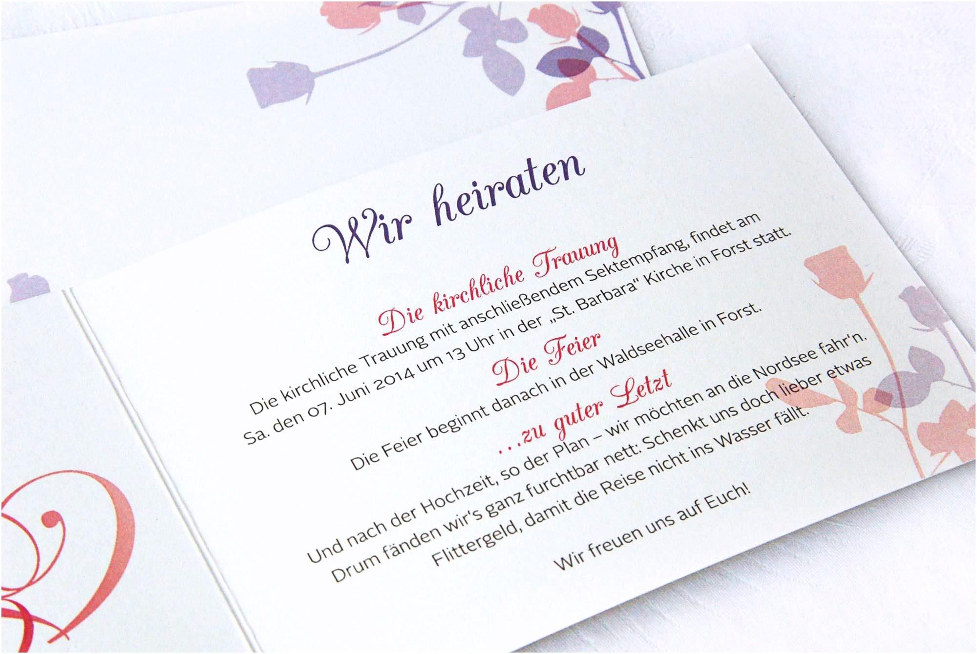 Hochzeitseinladungen Mal Anders