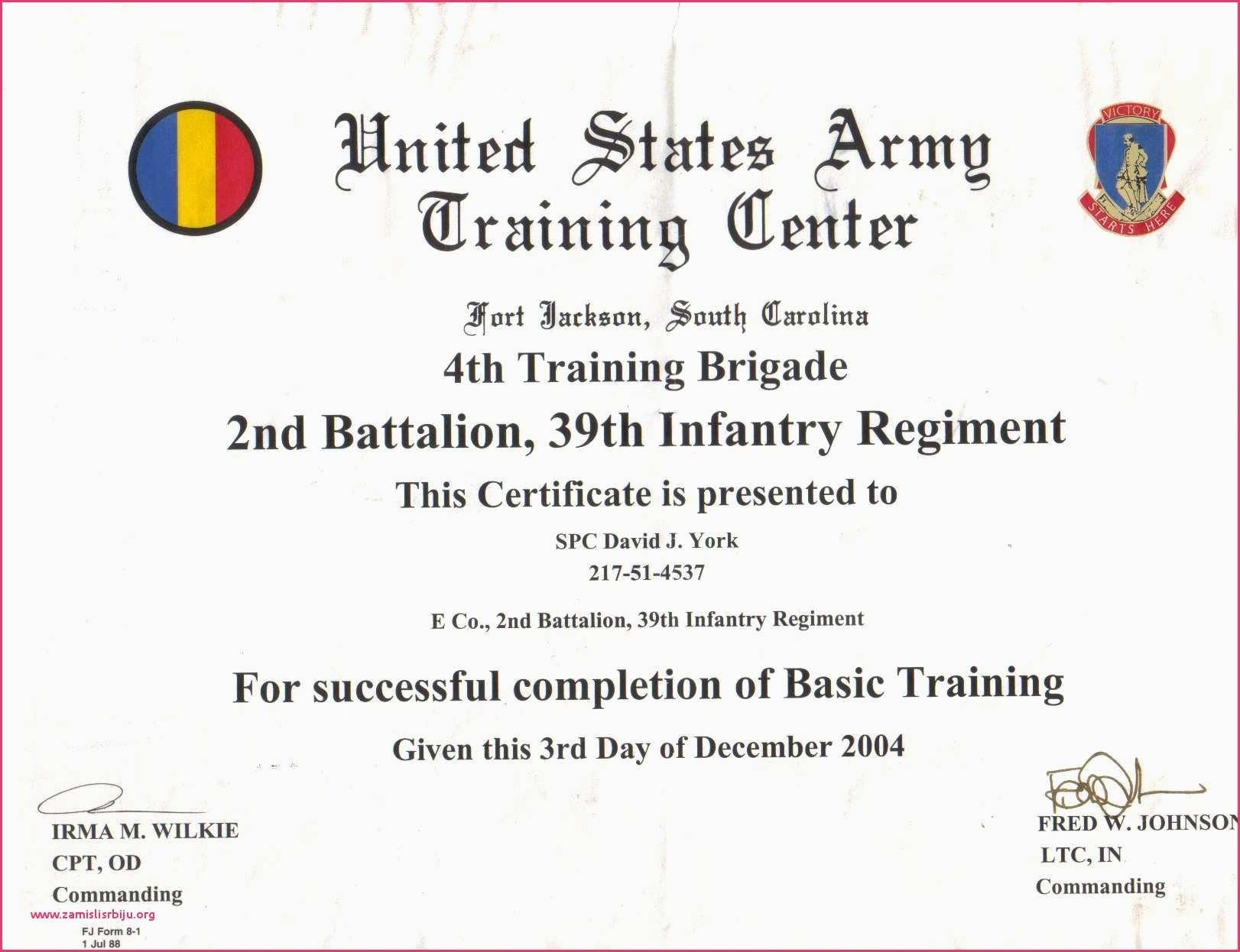 38 Certificate Of Training Completion Word Format