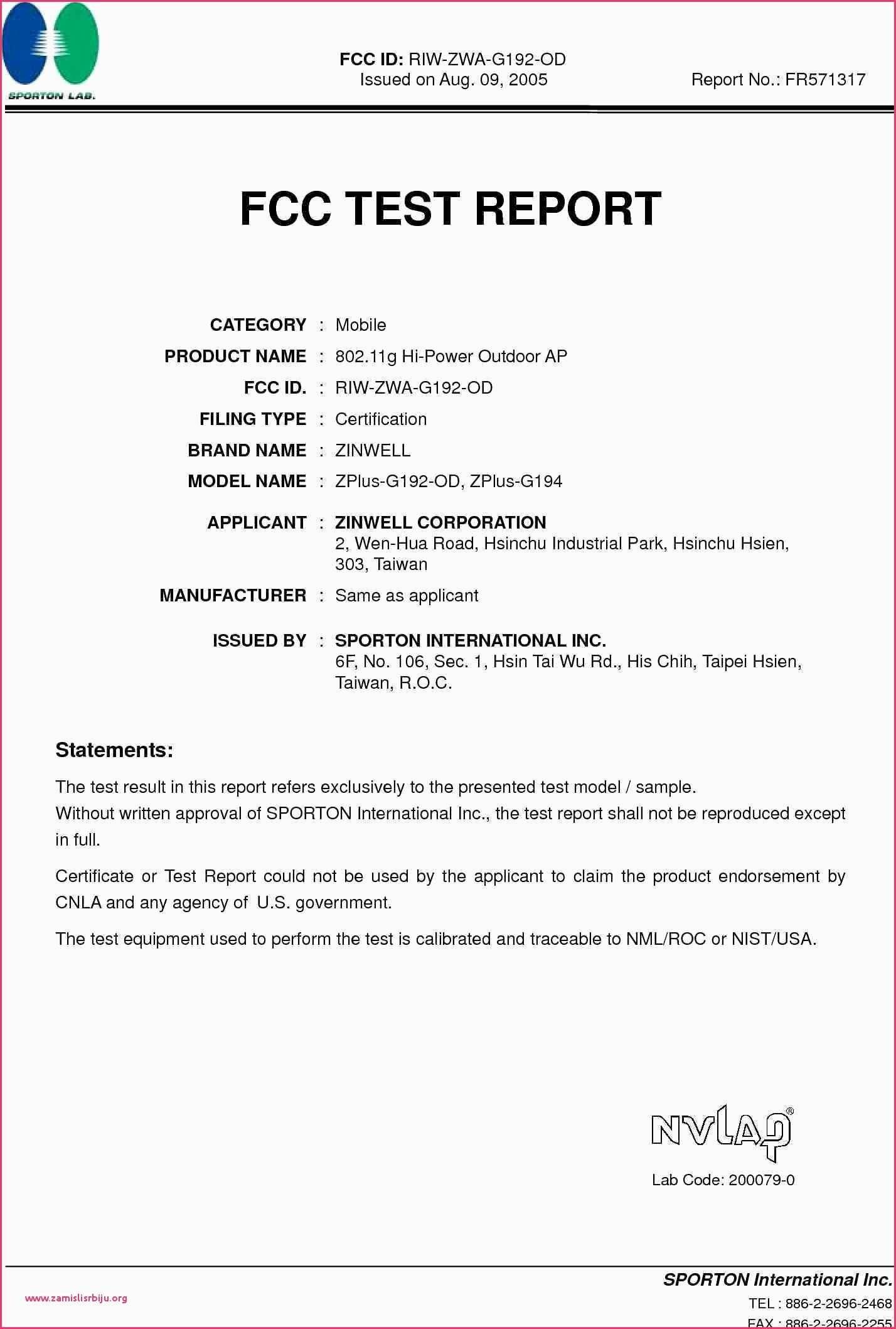 Certificate Sample Word format Cool Certificate Samples Word format